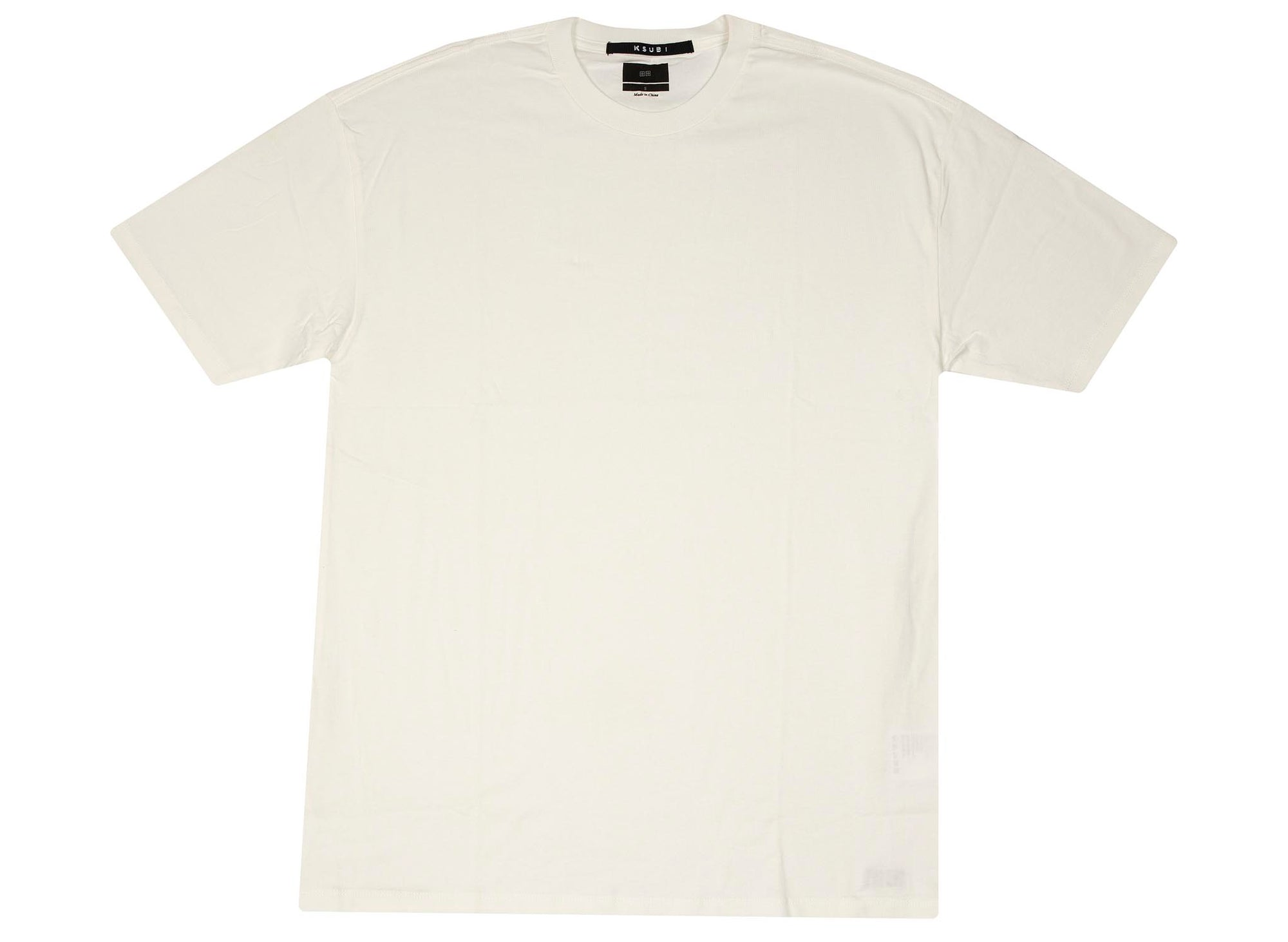 Ksubi Biggie S/S Tee 'Worn in White'