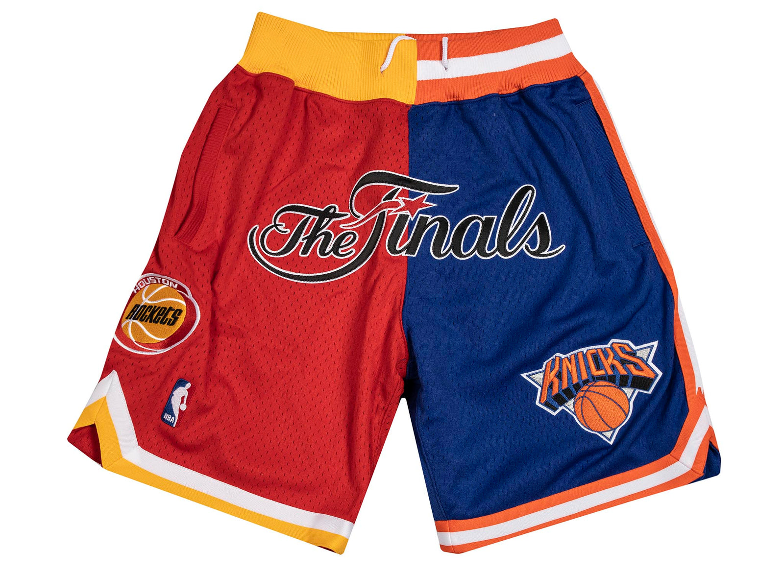 924fd46837 Mitchell and Ness x JUST DON NBA FINALS ROCKETS KNICKS 1994