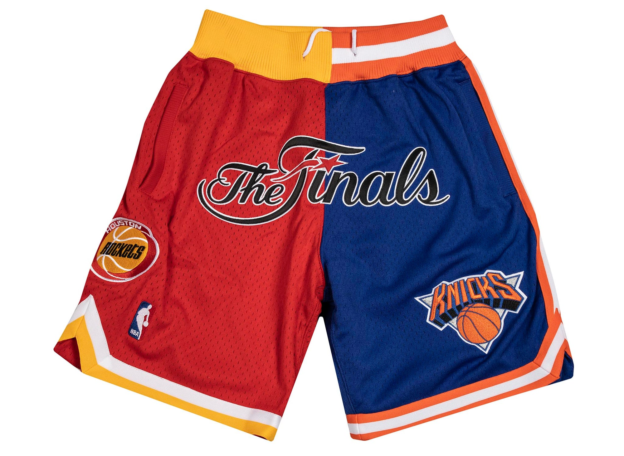 Mitchell and Ness x JUST DON  NBA FINALS ROCKETS KNICKS 1994