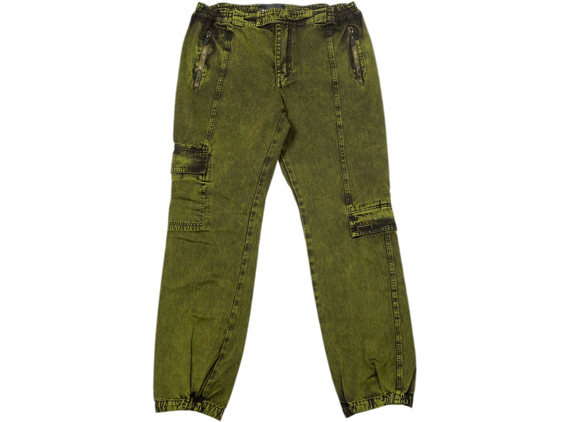 A-COLD-WALL* Memory Cargo Pants in Military Green xld