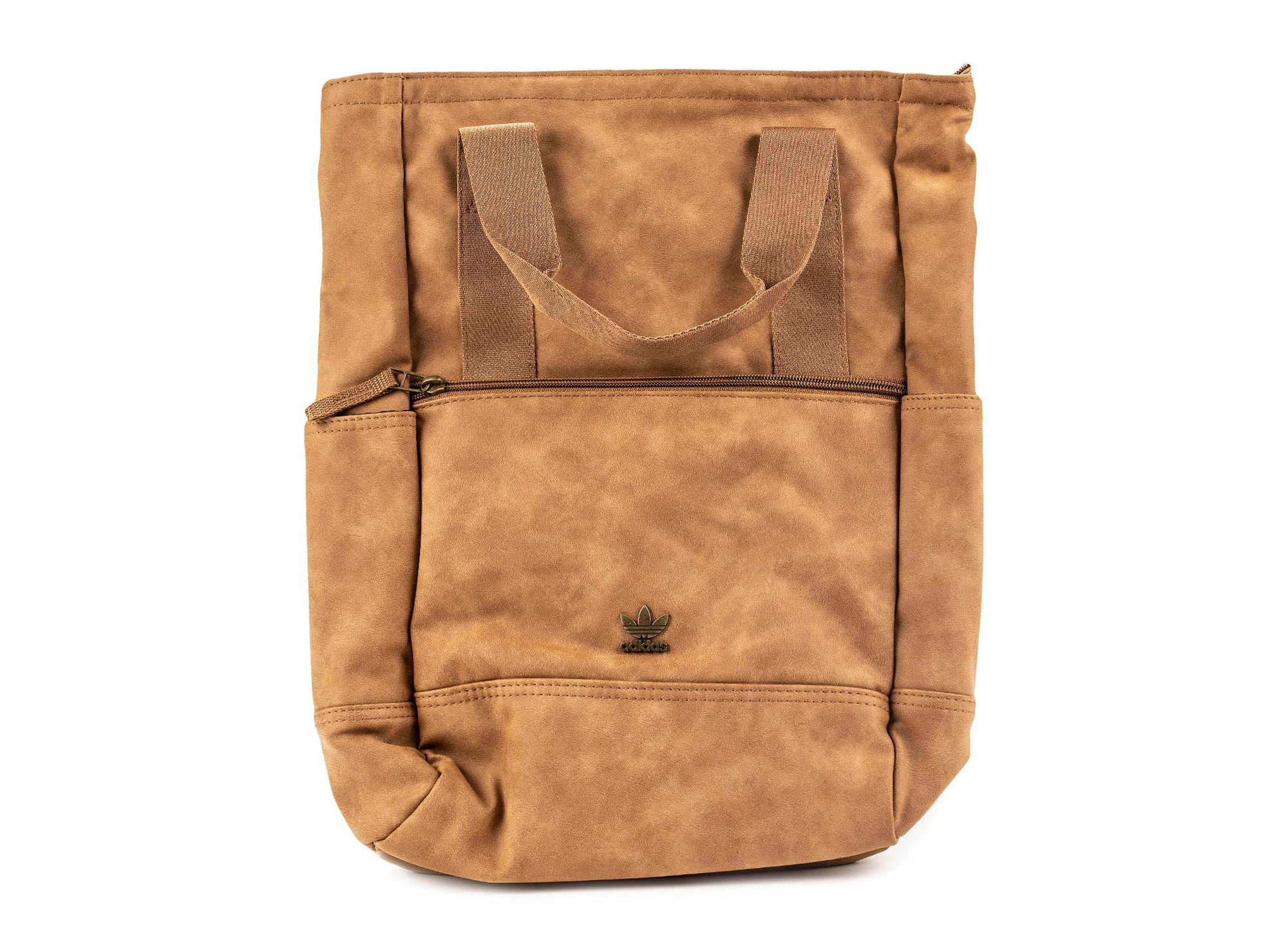 Adidas Tote 3 Suede Backpack 'Brown'