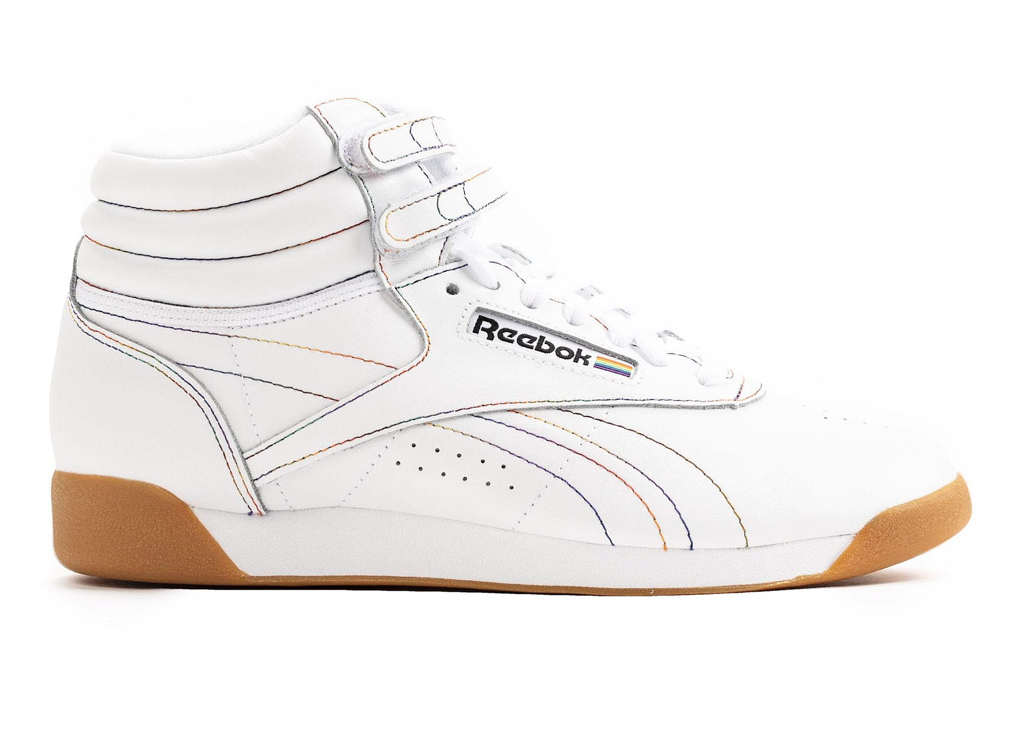Reebok Freestyle Hi Pride Shoes 'White'