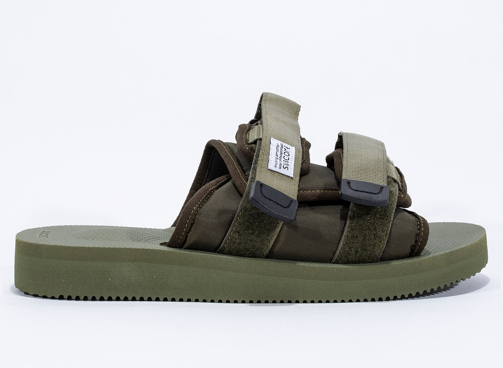 Suicoke Moto-Cab Sandals in Olive