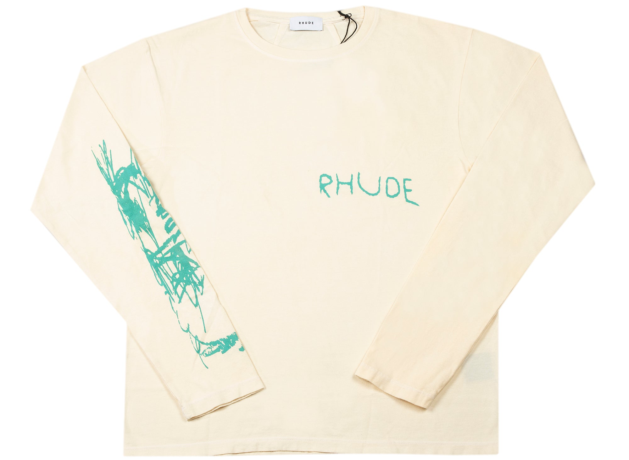 Rhude Scabbing Long Sleeve Tee
