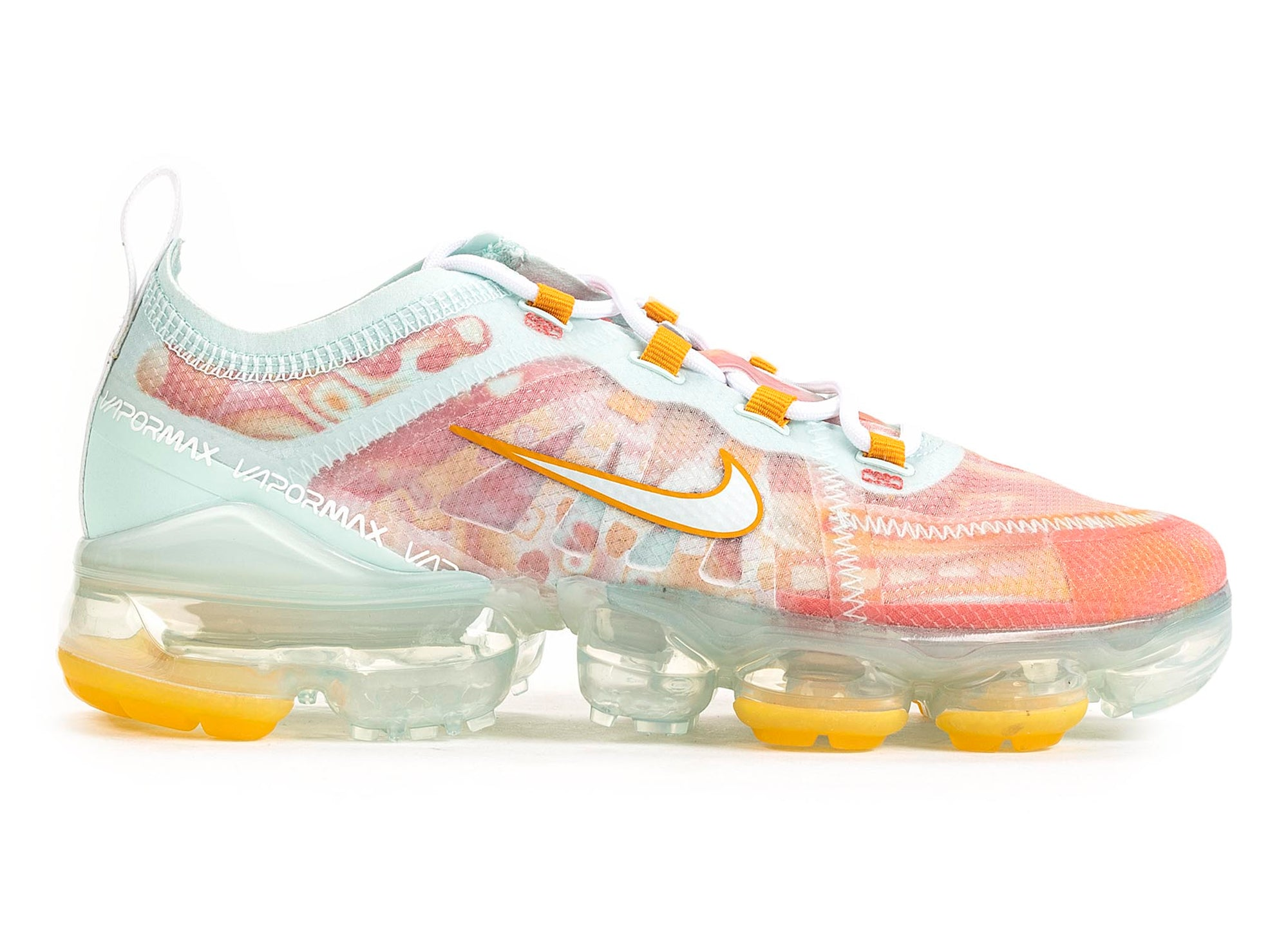 sale retailer b72e0 e1e45 Women's Nike Vapormax 2019 QS 'Dip Dyed Orange Peel'