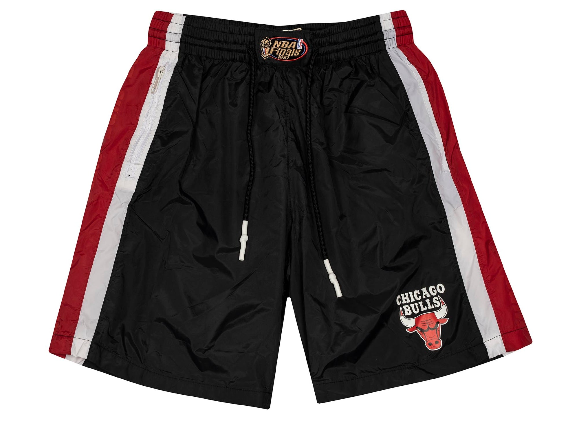 Mitchell & Ness Packable Nylon Shorts 'Chicago Bulls'