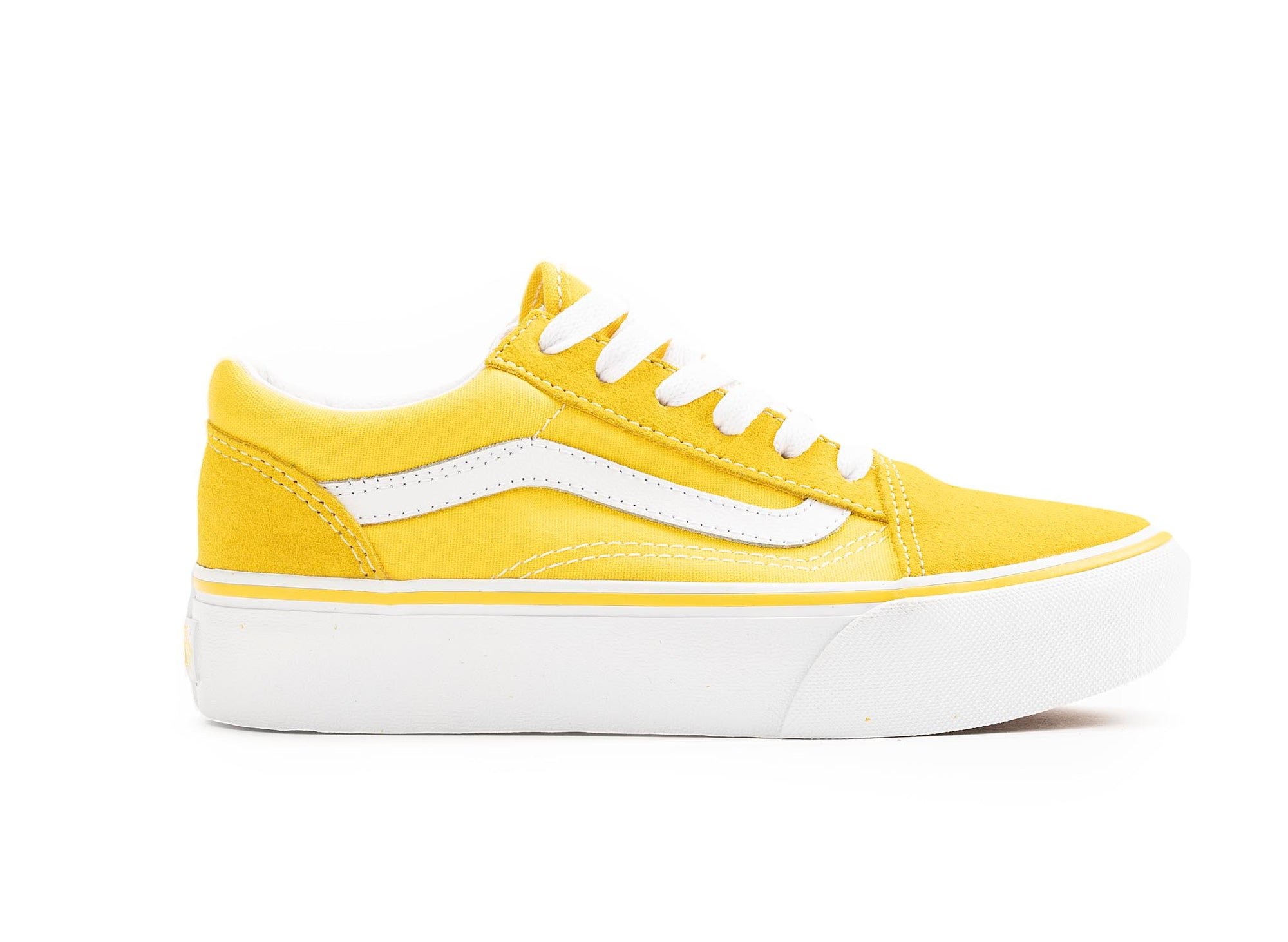Vans Kids Old Skool Platform 'Yellow'