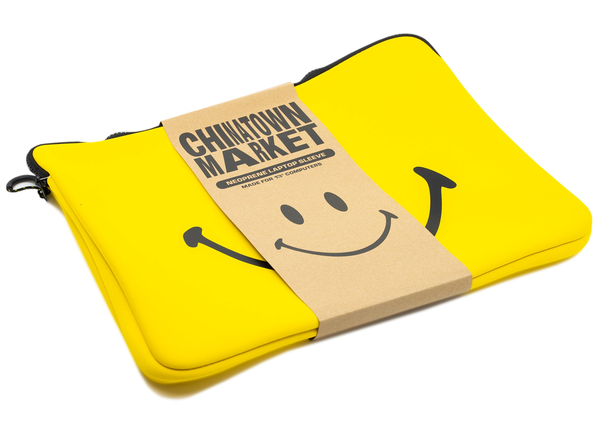 "Chinatown Market Smiley 13"" Laptop Case xld"