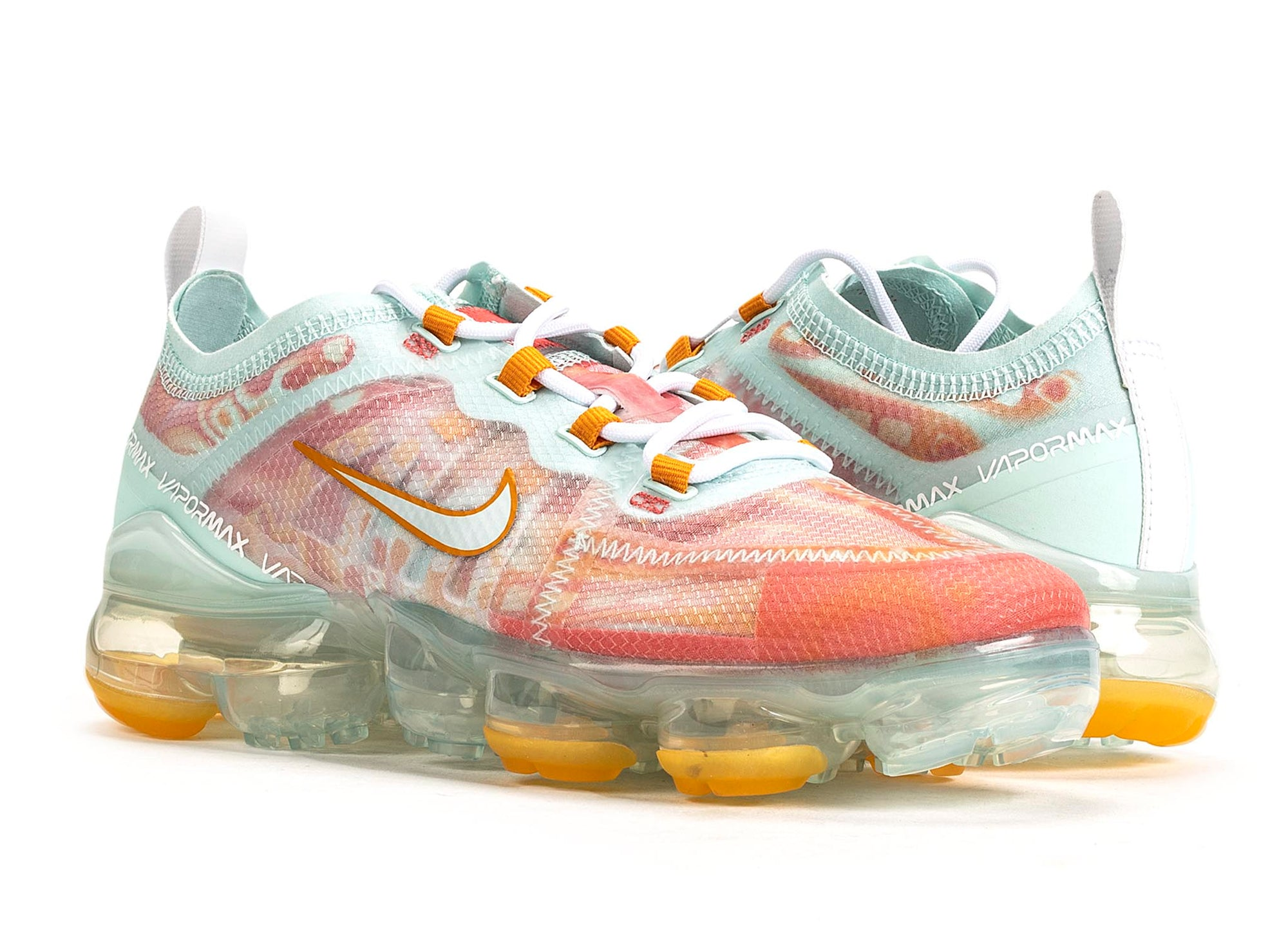 sale retailer a44cd e0ac3 Women's Nike Vapormax 2019 QS 'Dip Dyed Orange Peel'