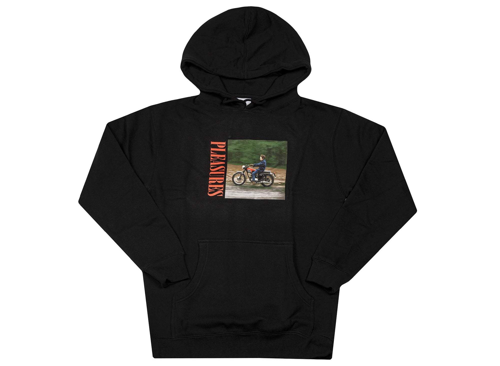 Pleasures Bob Dylan Ride Hoody 'Black'