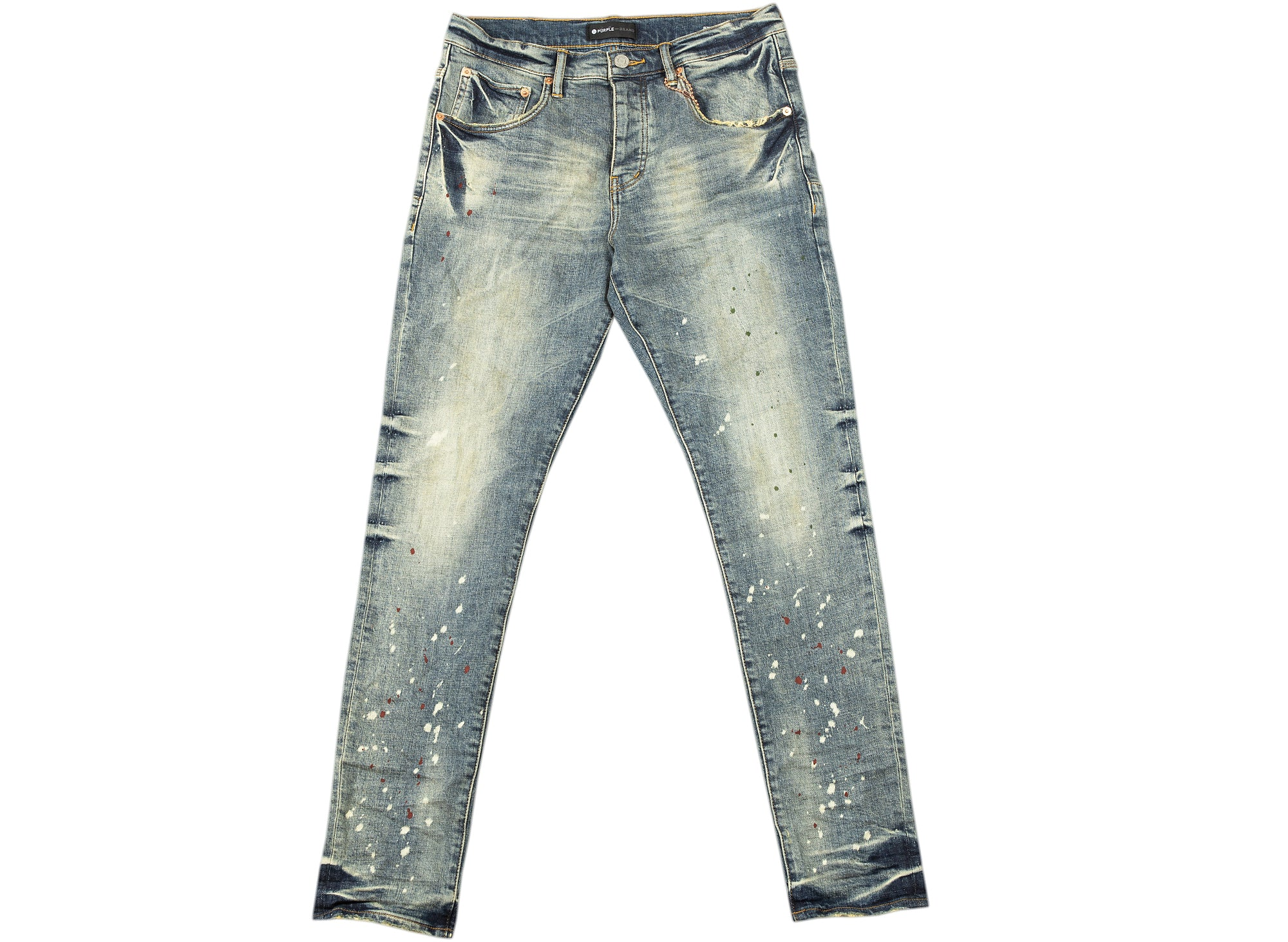 Purple Brand Vintage Spotted Indigo Jeans xld