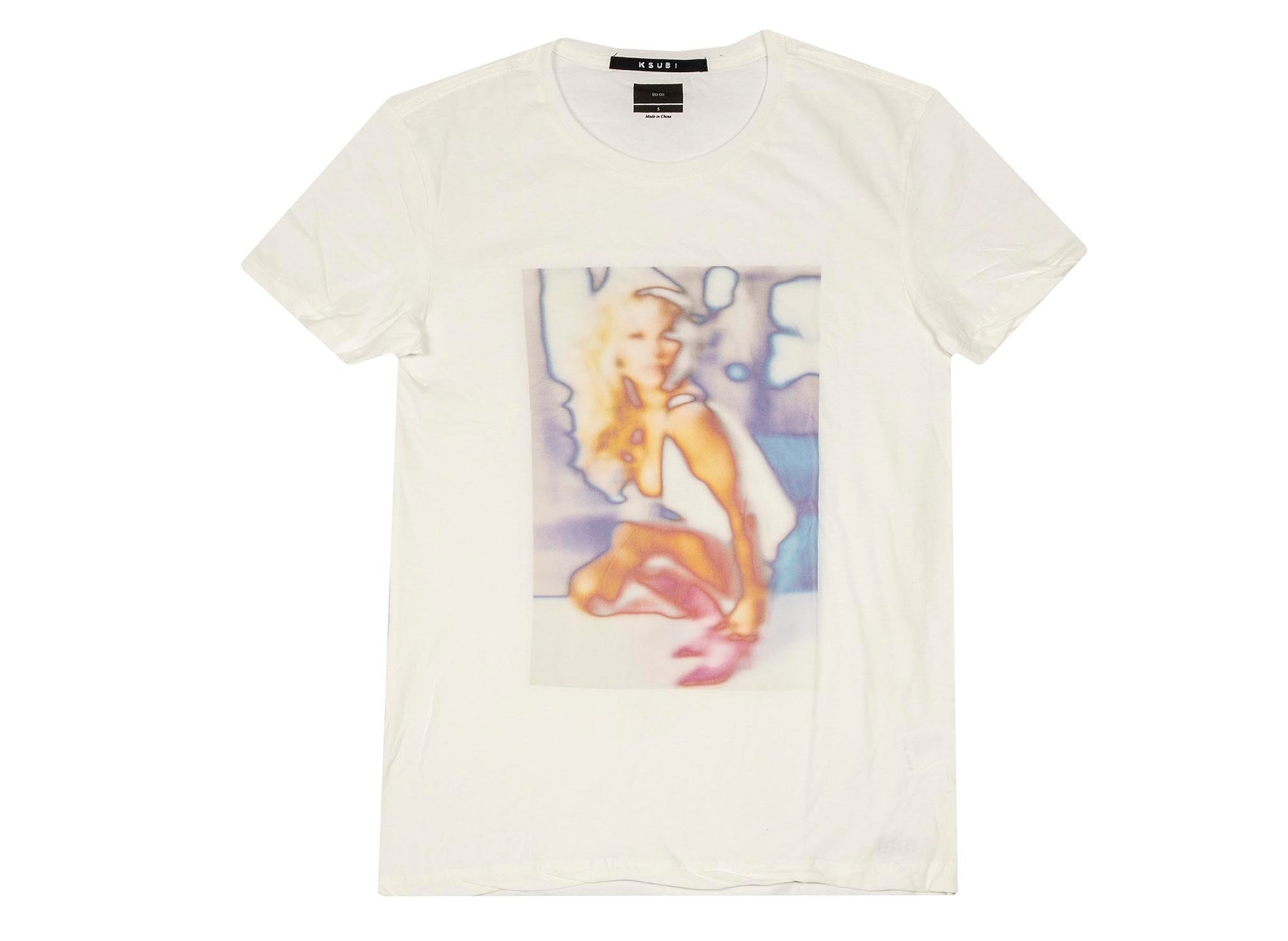 Ksubi Girls Worn In T-Shirt 'White'