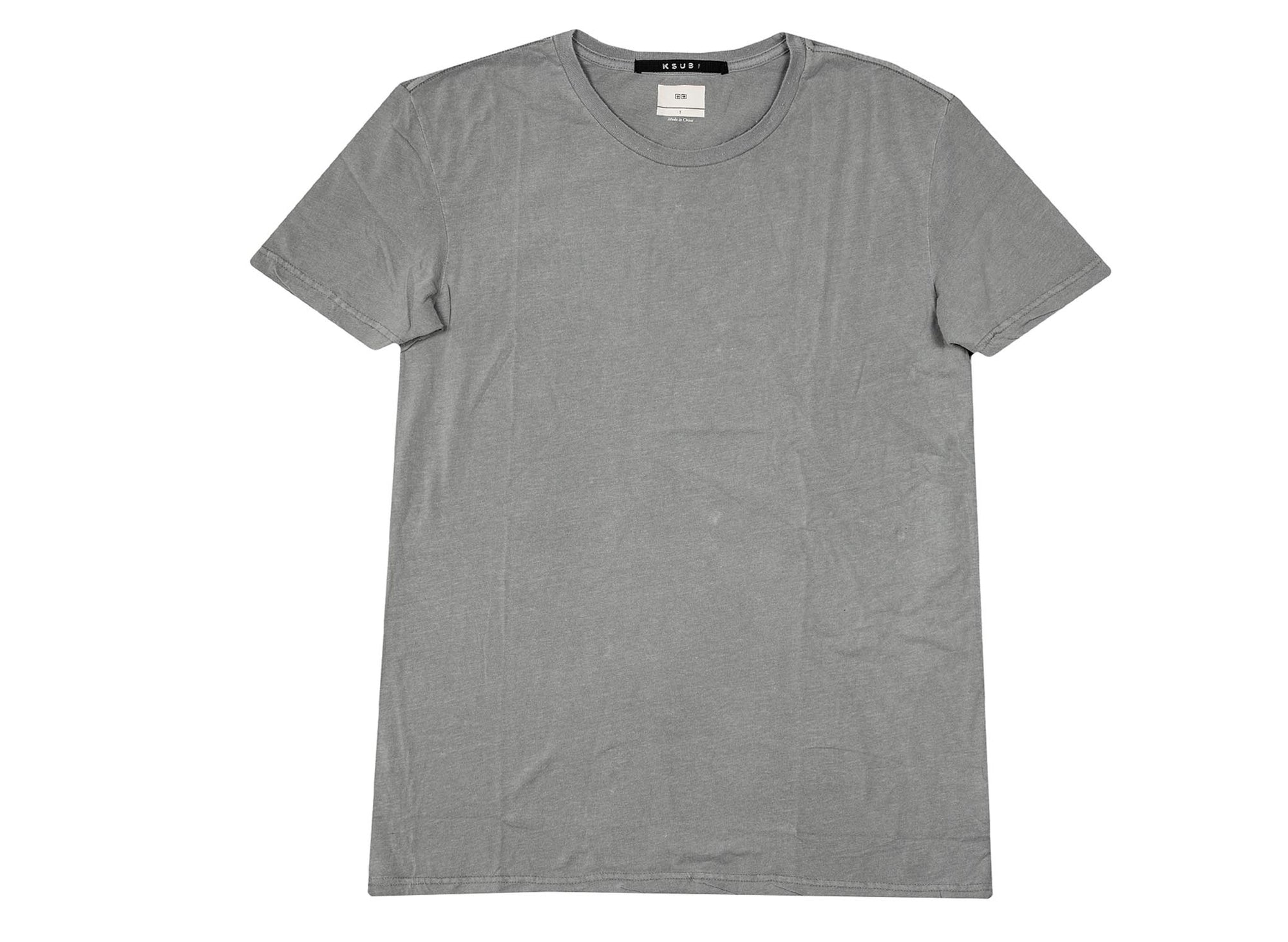 Ksubi Seeing Lines T-Shirt 'Grey'