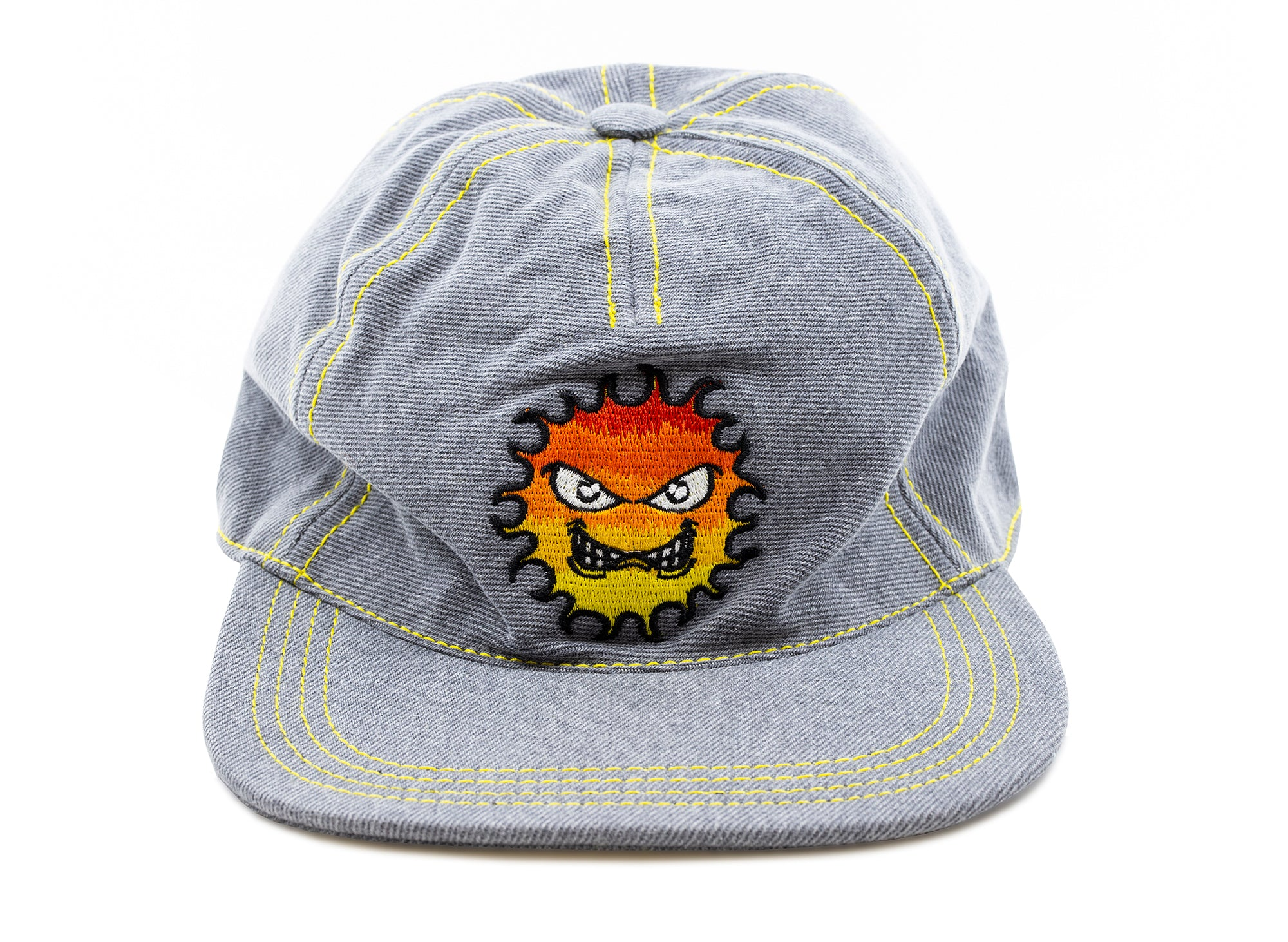 Rassvet (PACCBET) Embroidered Flame Cap in Grey
