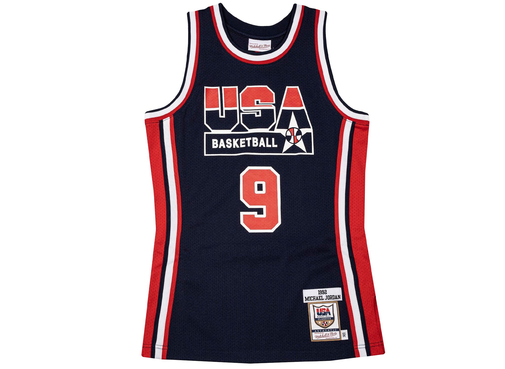 Mitchell & Ness NBA Authentic Jersey Team USA '92 Michael Jordan 'Navy'