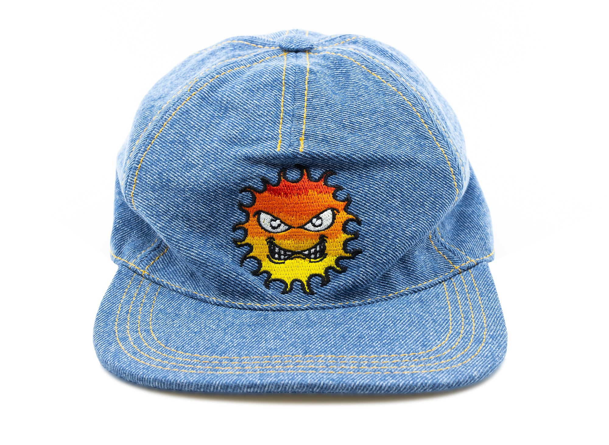 Rassvet (PACCBET) Embroidered Flame Cap in Blue