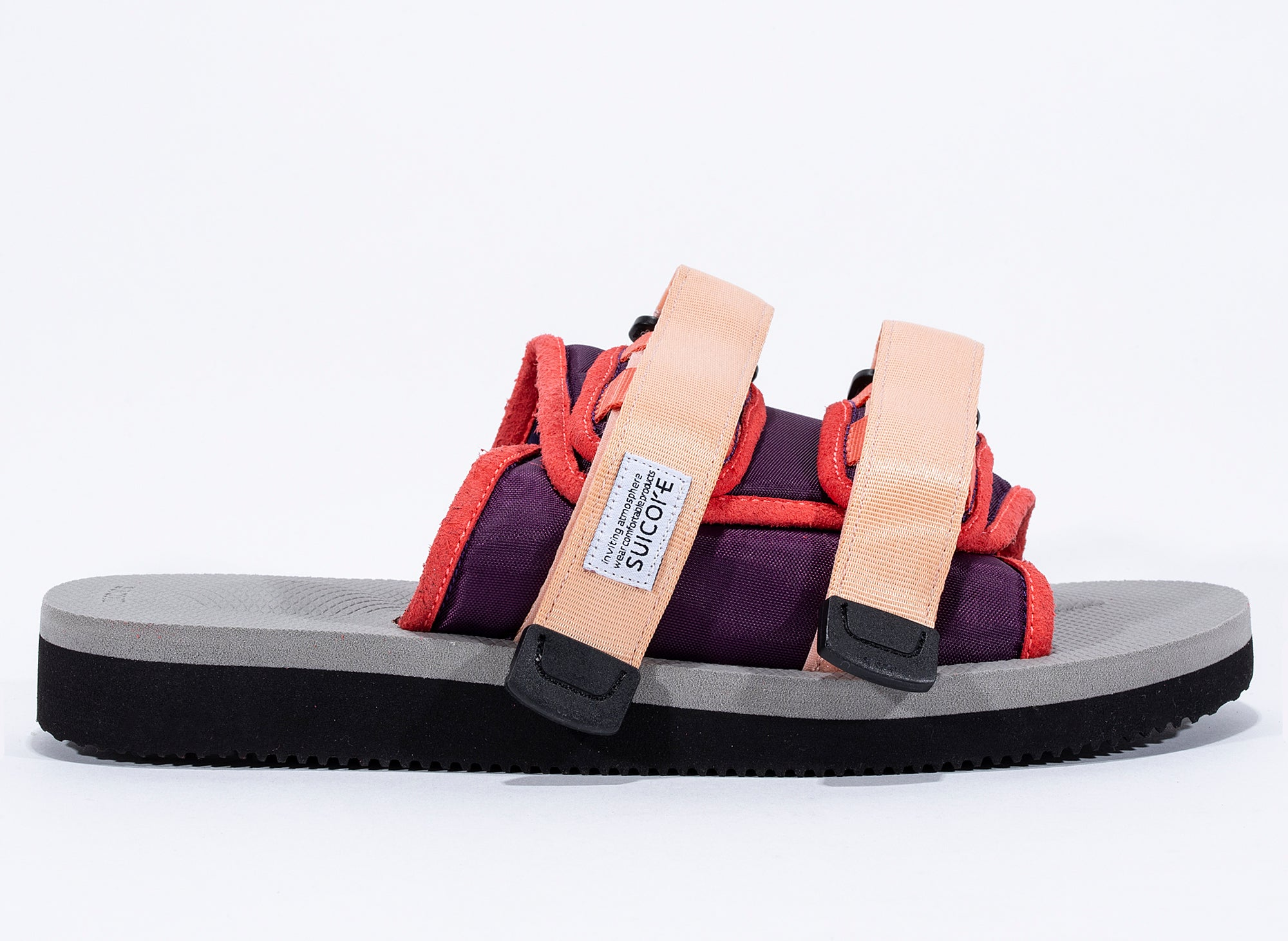 Suicoke Moto-Cab Sandals in Pink