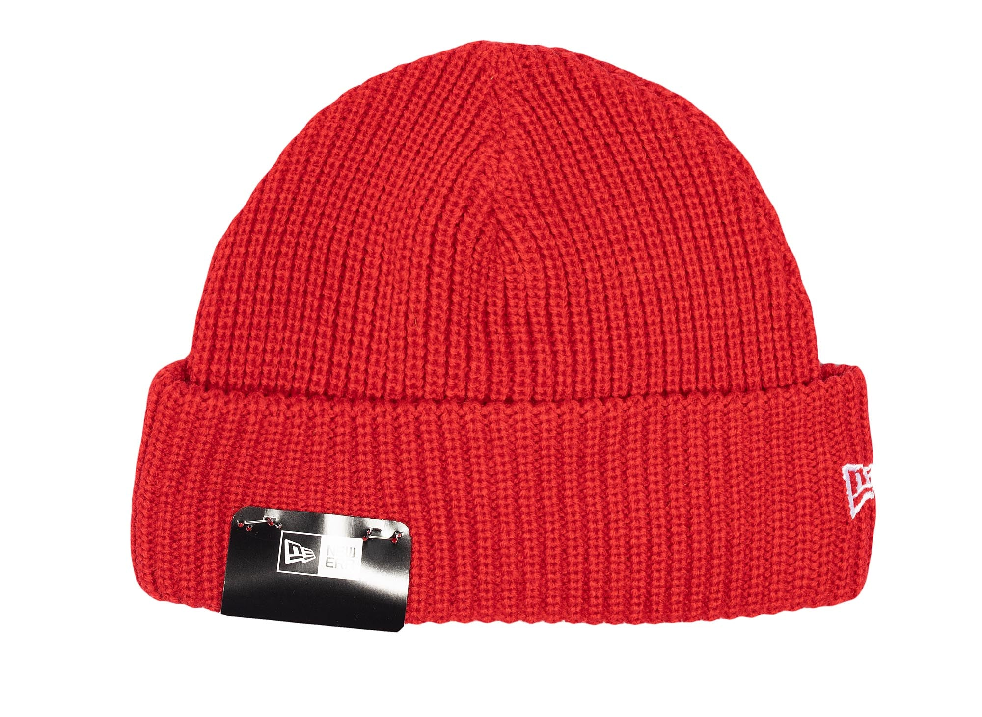 New Era Cuff Knit Beanie 'Red'