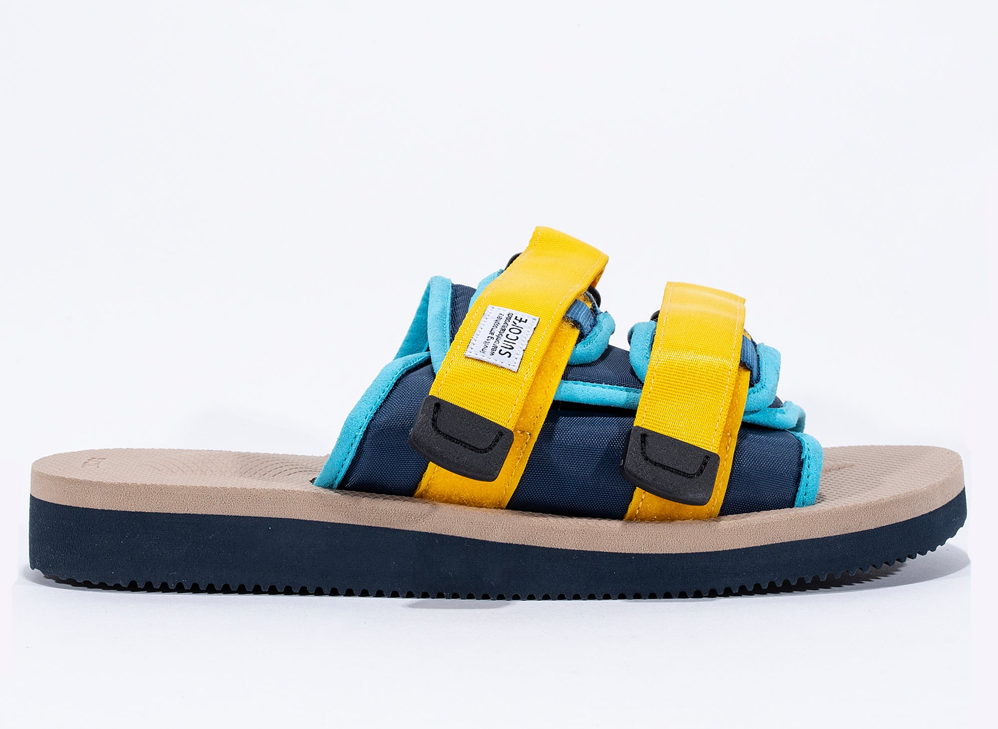 Suicoke Moto-Cab Sandals in Navy