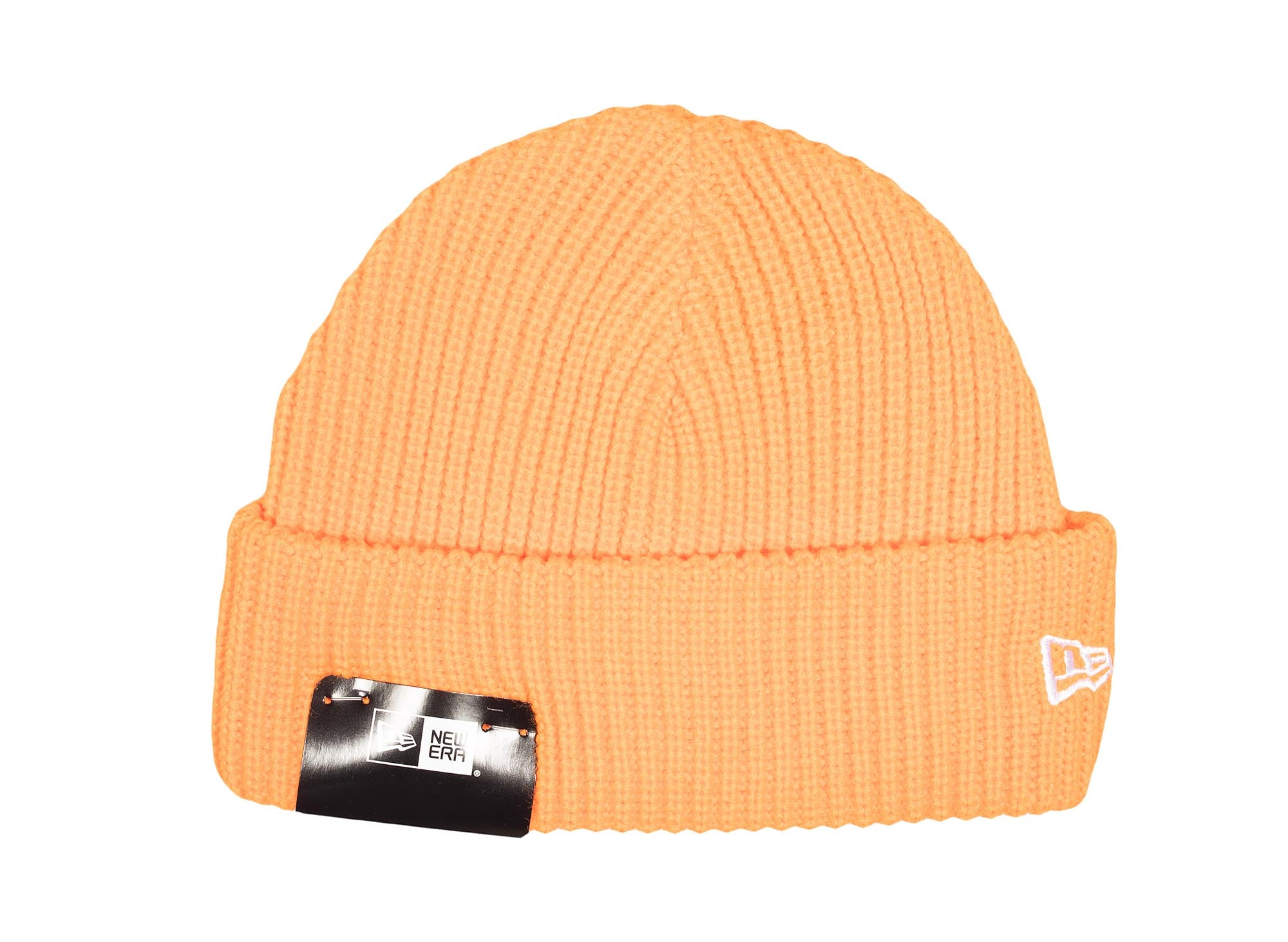 New Era Cuff Knit Beanie 'Bright Orange'