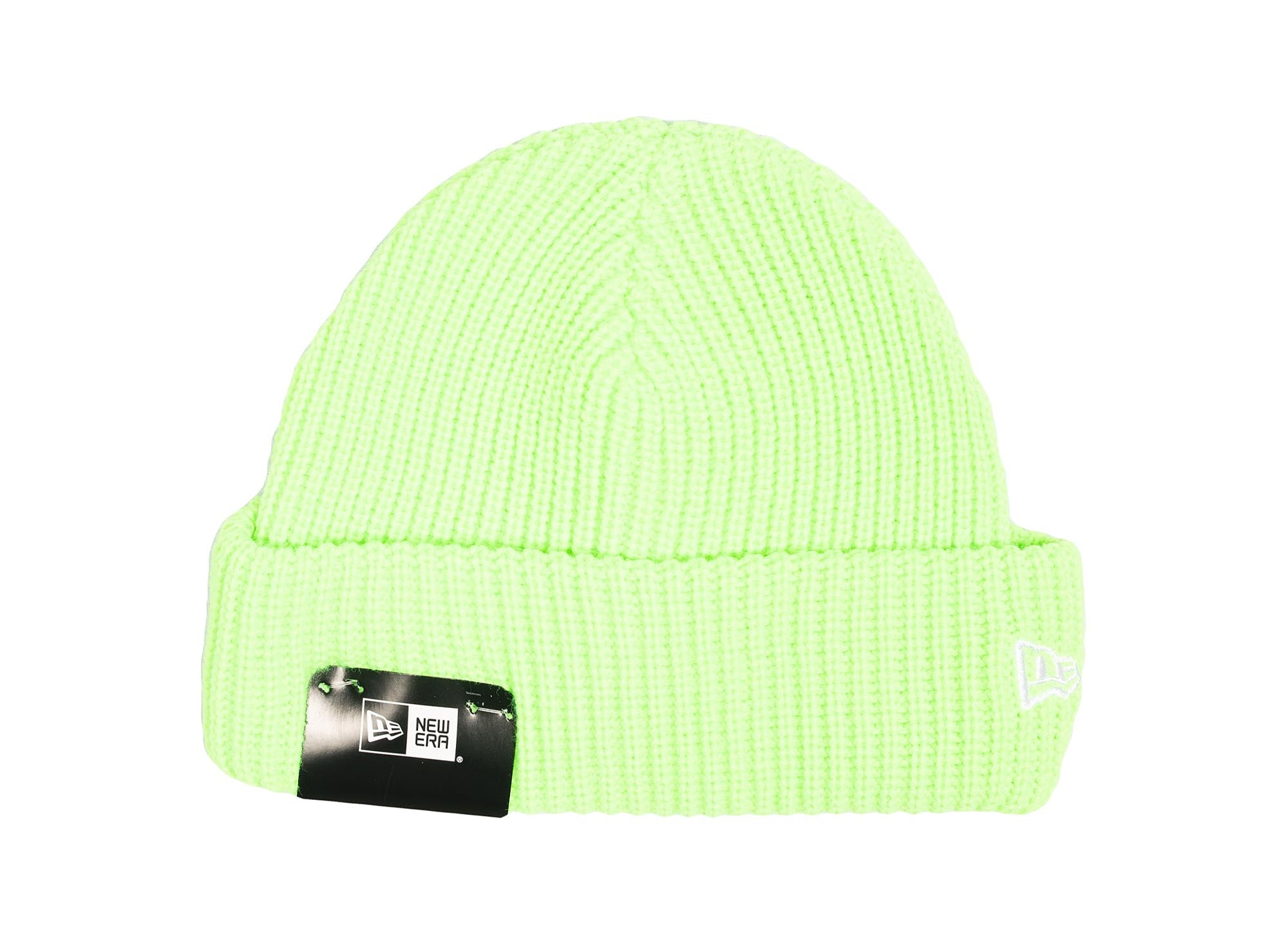 New Era Cuff Knit Beanie 'Lime Green'