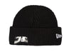 New Era Cuff Knit Beanie 'Black'
