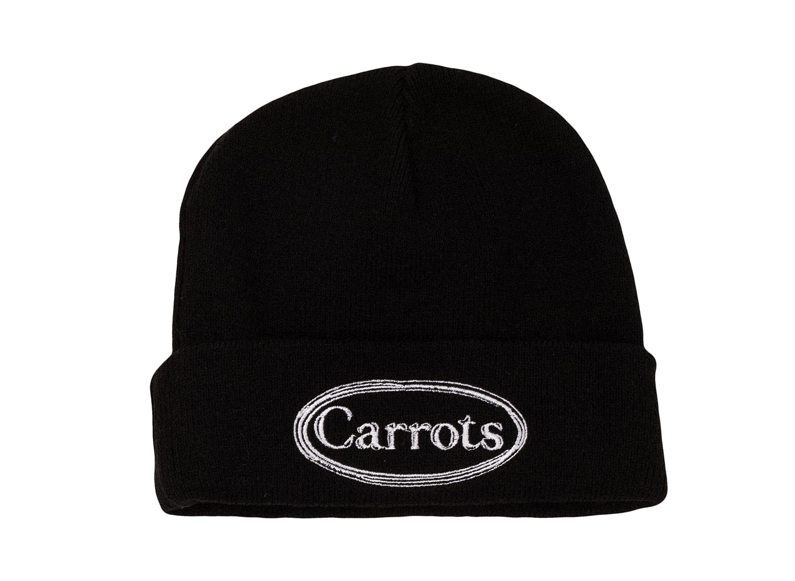 7c02be2b0db CARROTS OVAL WORDMARK KNIT BEANIE