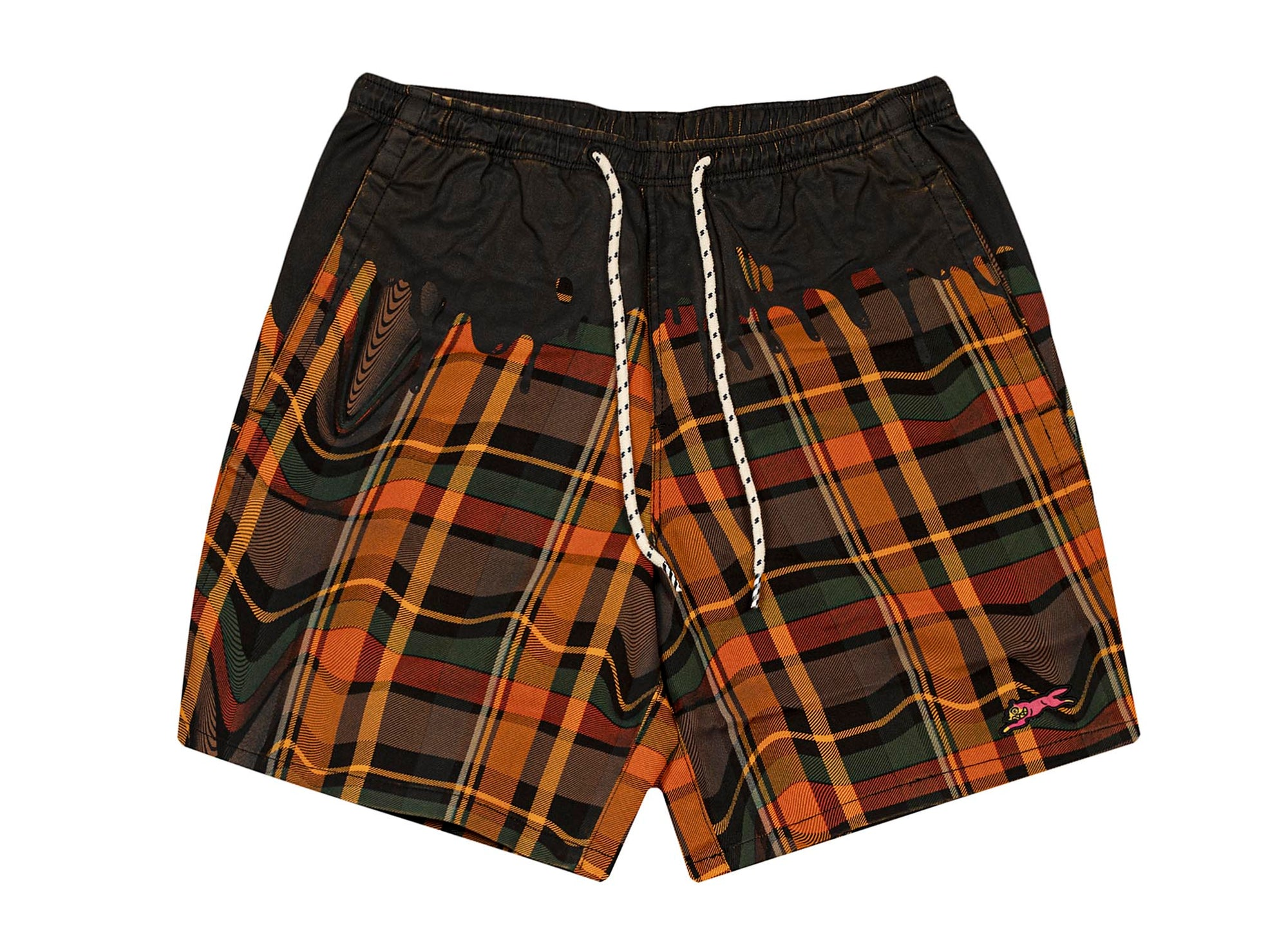ICE CREAM Natas Shorts 'Plaid/Black'