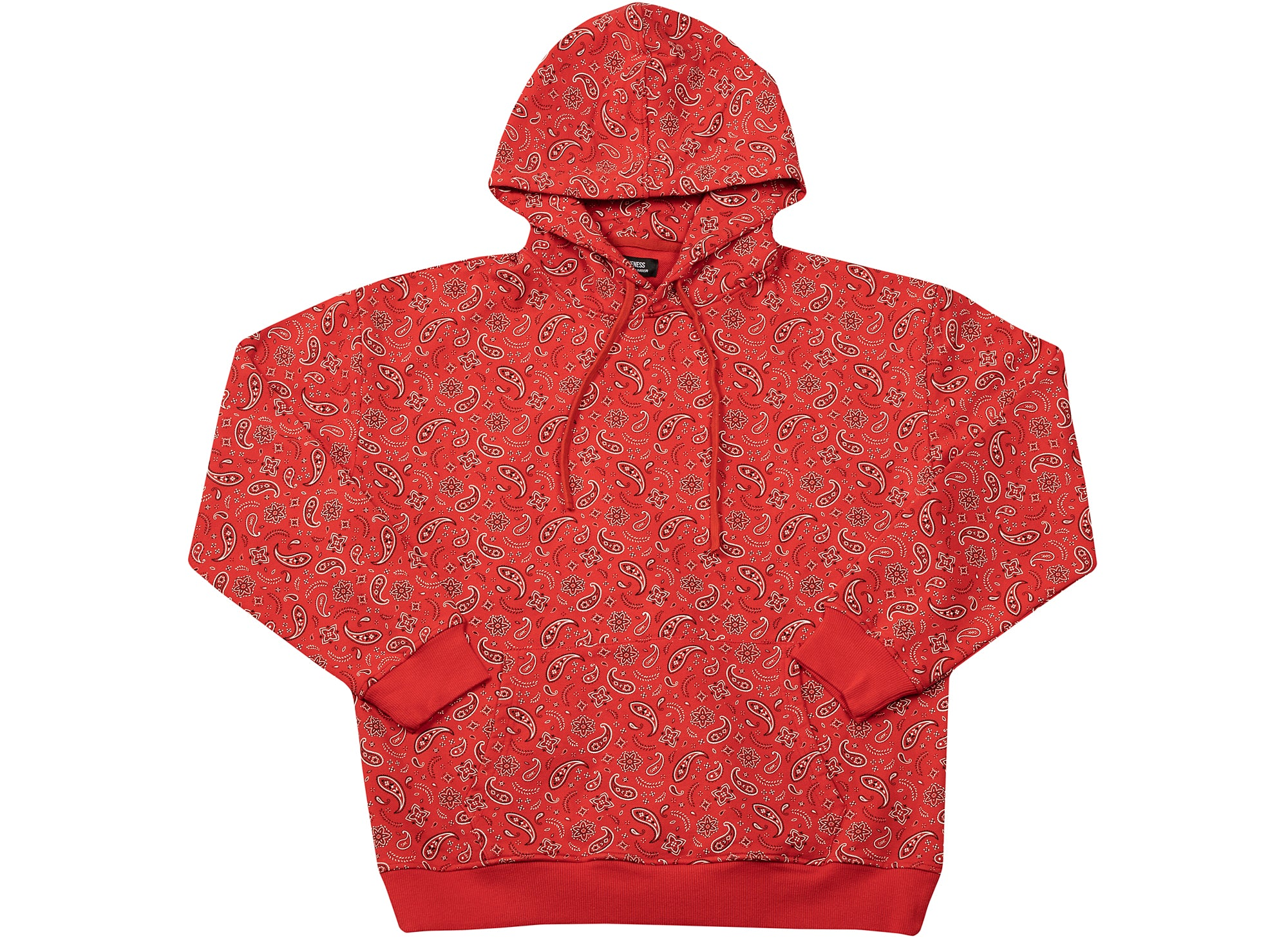Oneness Sawyer Hoodie in Red xld