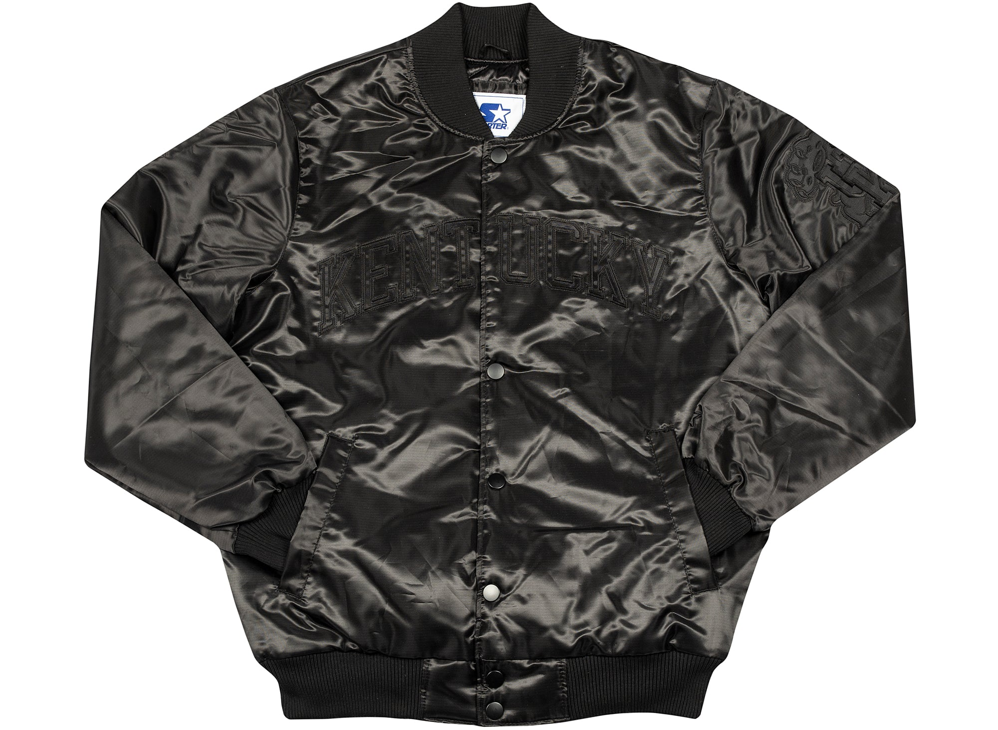 Starter x Oneness University of Kentucky Jacket - Limited Edition Triple Black Exclusive xld