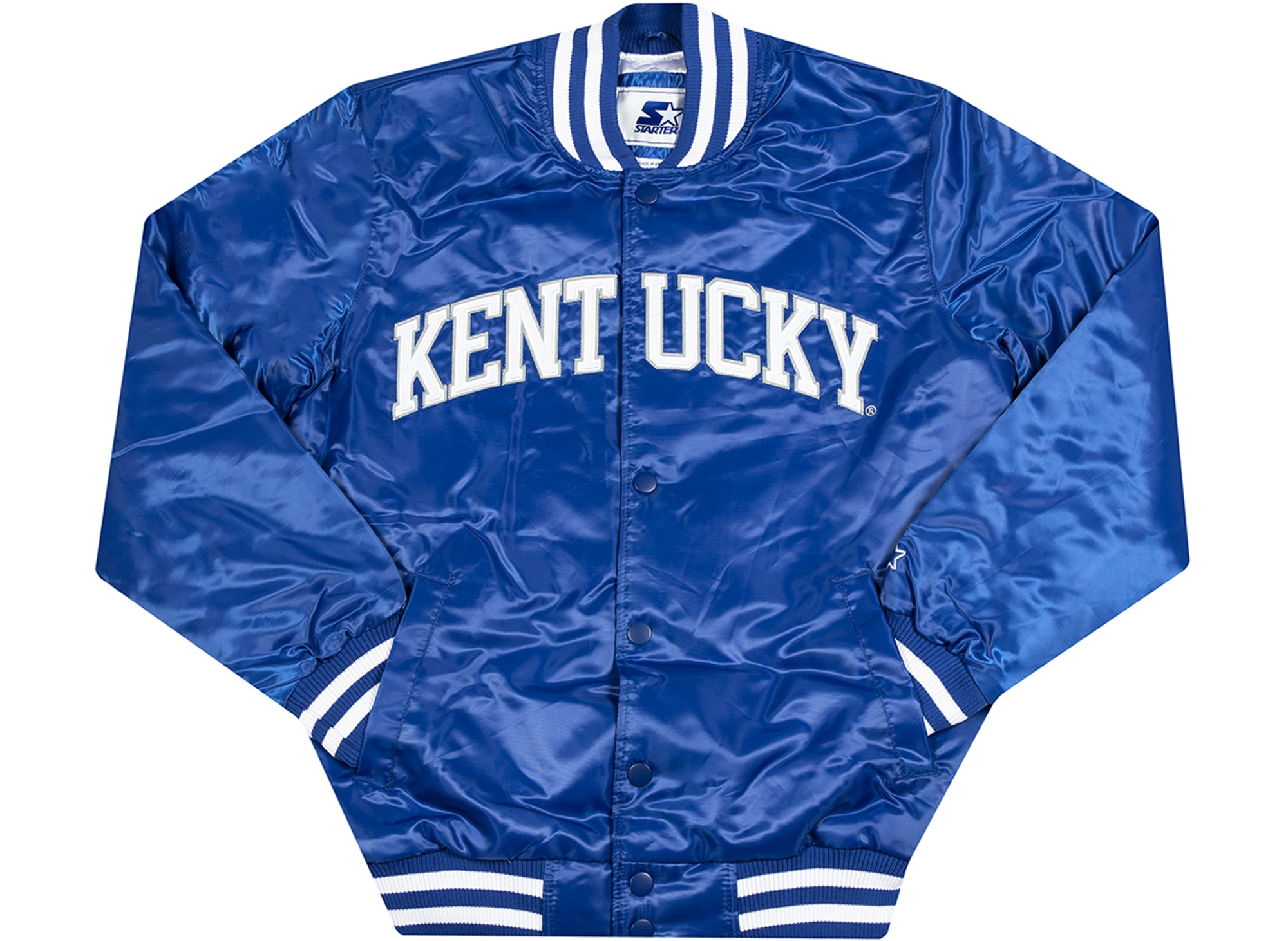 Starter x Oneness University of Kentucky Jacket in Blue