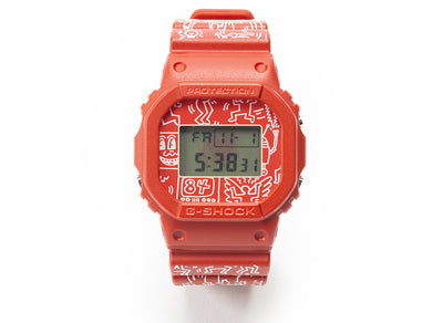 Keith Haring x Casio G-Shock DW-5600