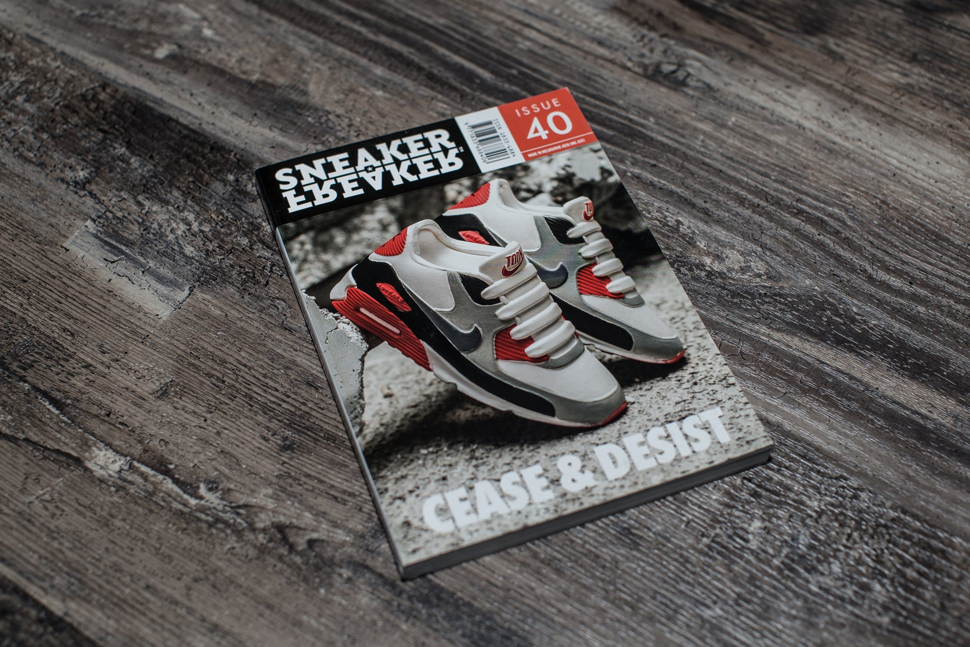 SNEAKER FREAKER: ISSUE 40 CEASE & DESIST