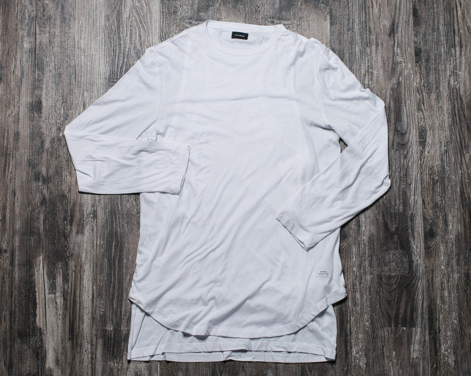 STAMPD SIGNATURE DOUBLE LAYER LS TEE