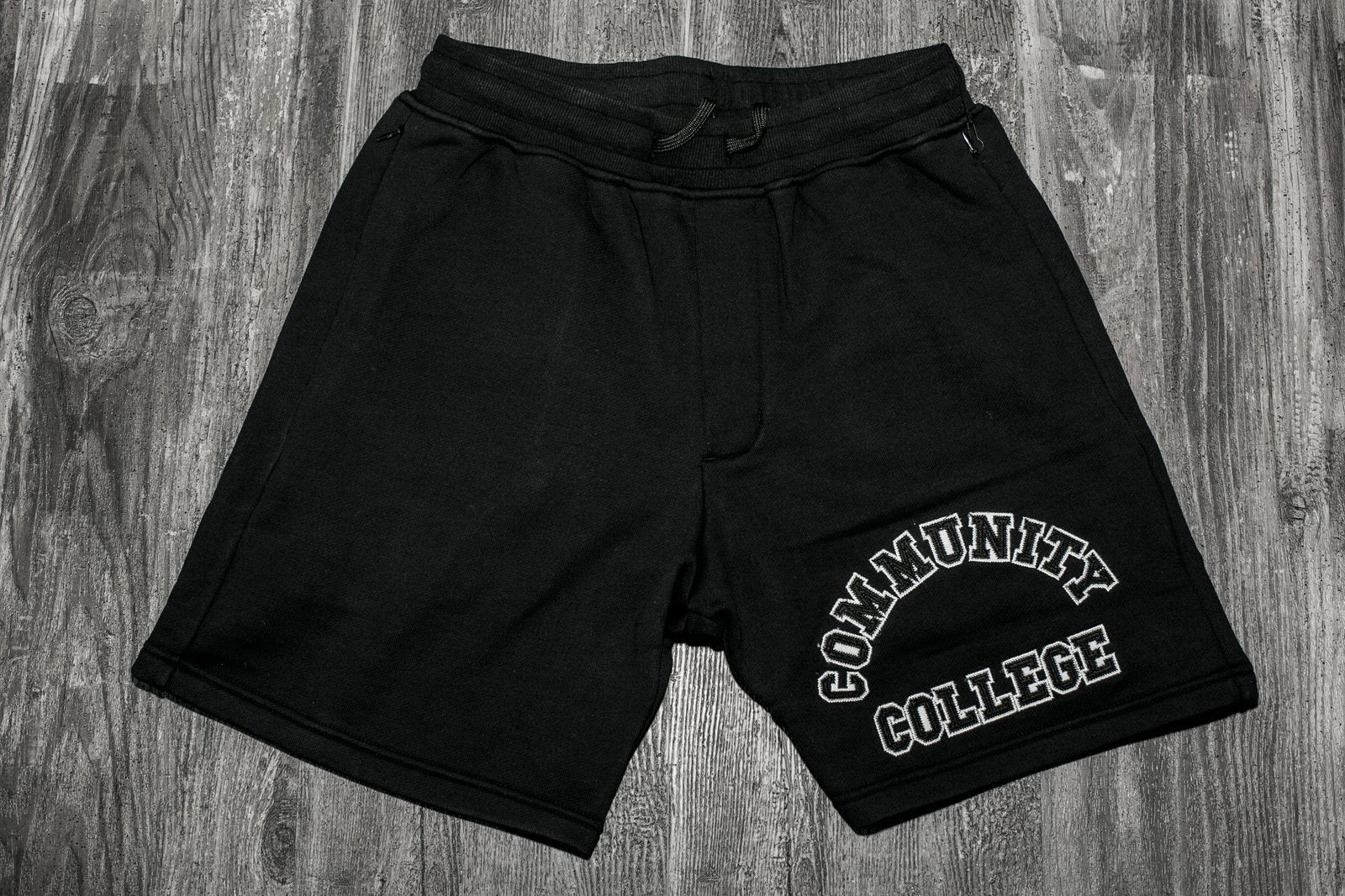 STAMPD COLLEGIATE SWEAT SHORTS