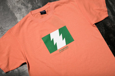 THE HUNDREDS ANWAR WILDFIRE T SHIRT