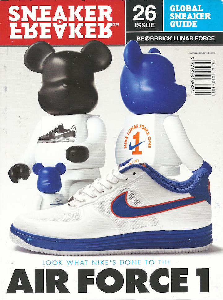 SNEAKER FREAKER ISSUE 26 | BE@RBRICK LUNAR FORCE