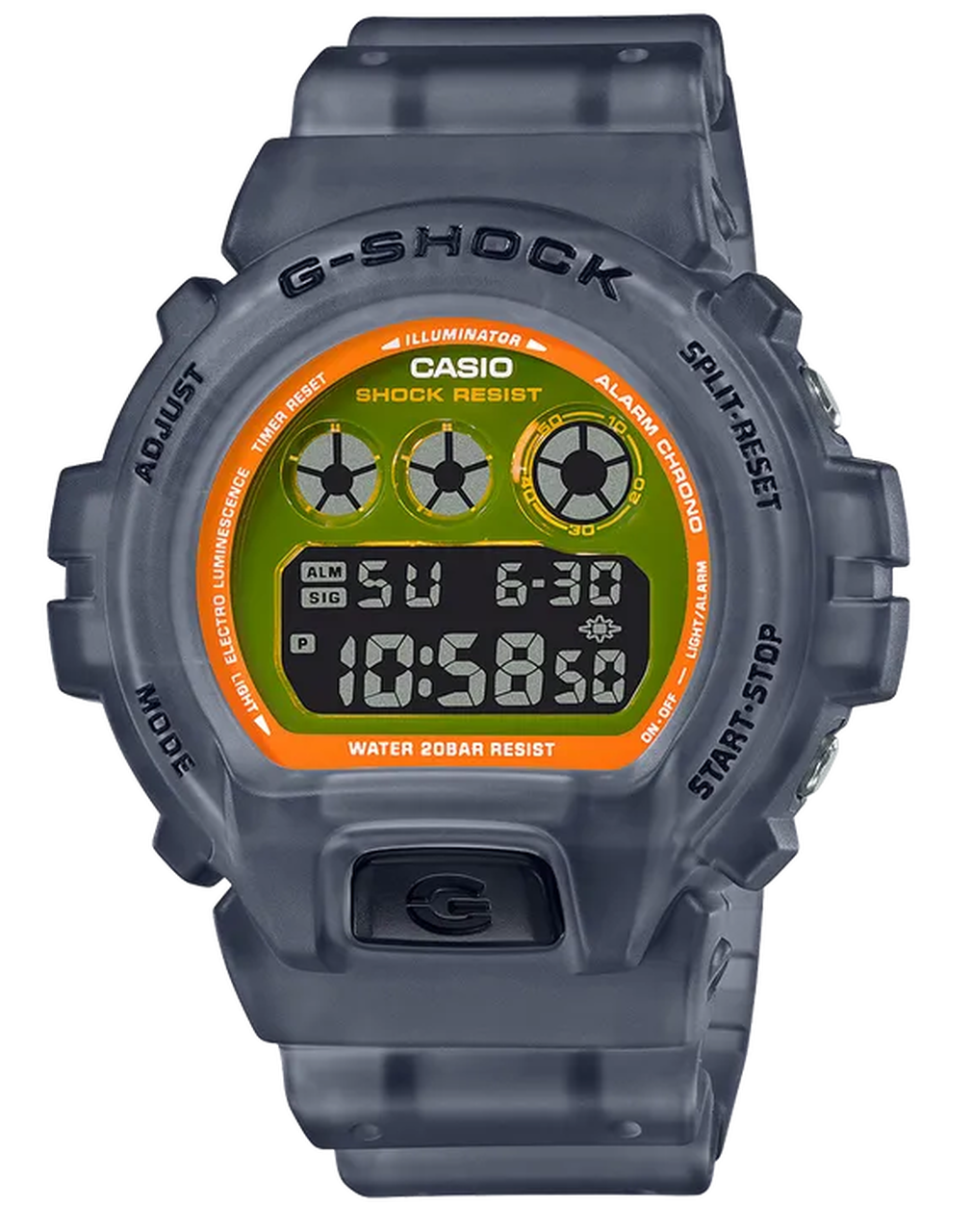 Casio G-SHOCK Digital DW6900LS-1 Watch