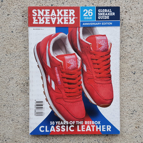 SNEAKER FREAKER ISSUE 26 | 30 YEARS OF REEBOK
