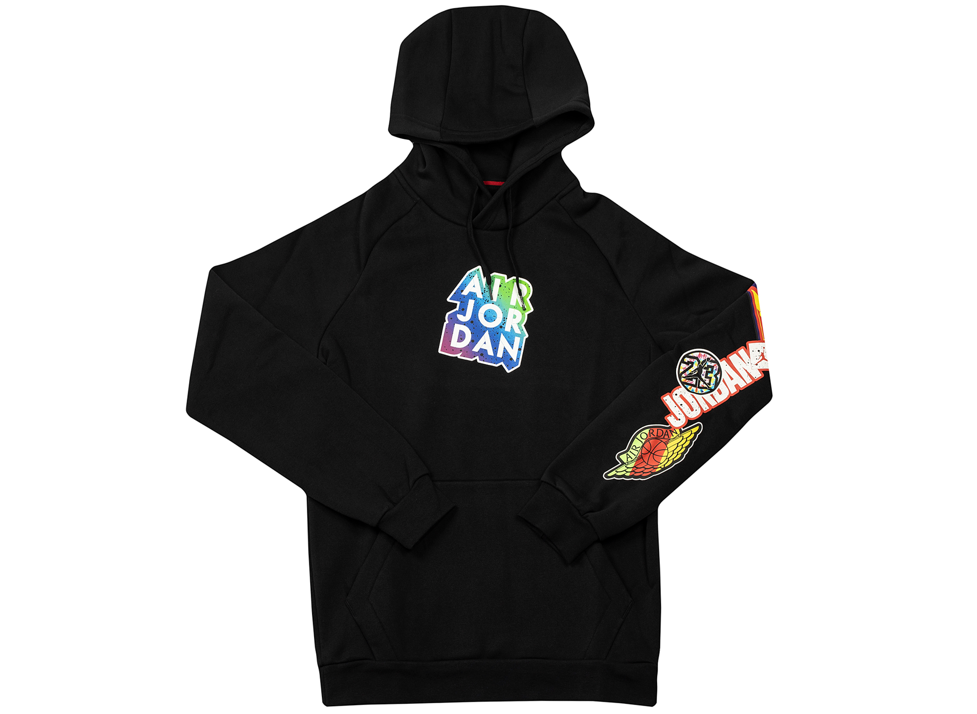 Jordan Jumpman Sticker Hoodie in Black