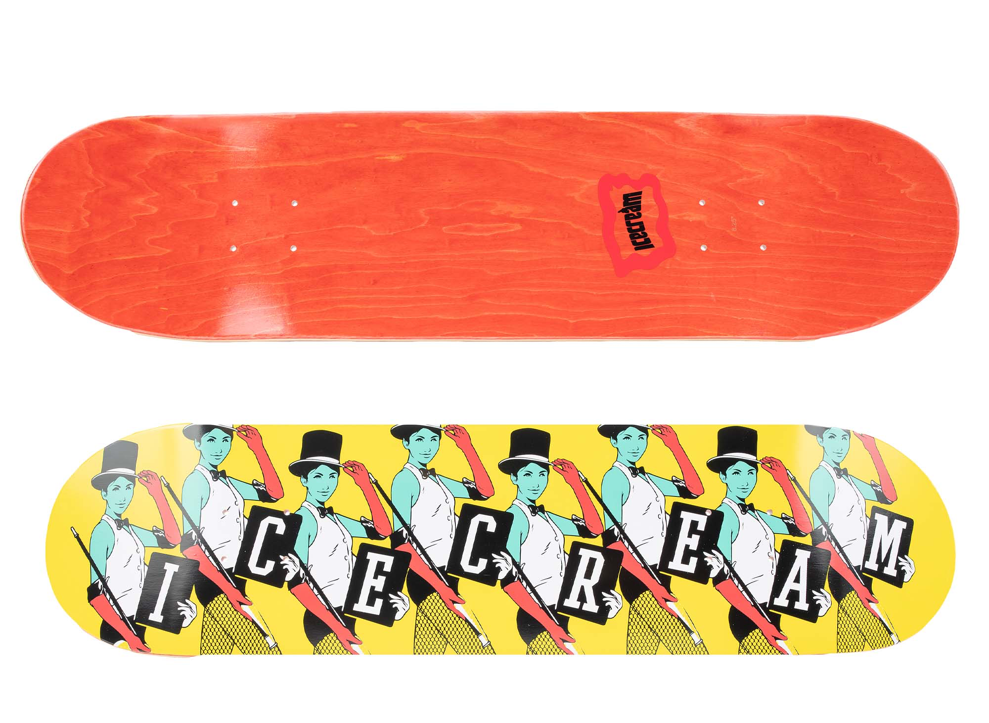ICECREAM Top Hat Skate Deck