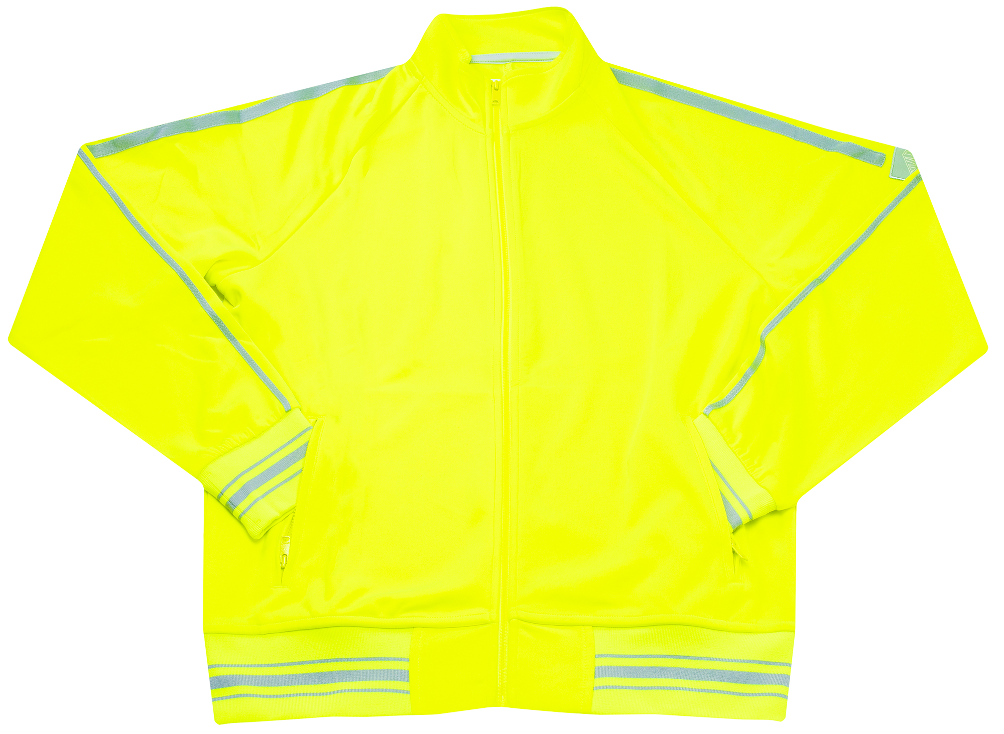 Ovadia & Sons Ball Track Jacket 'Safety Yellow'
