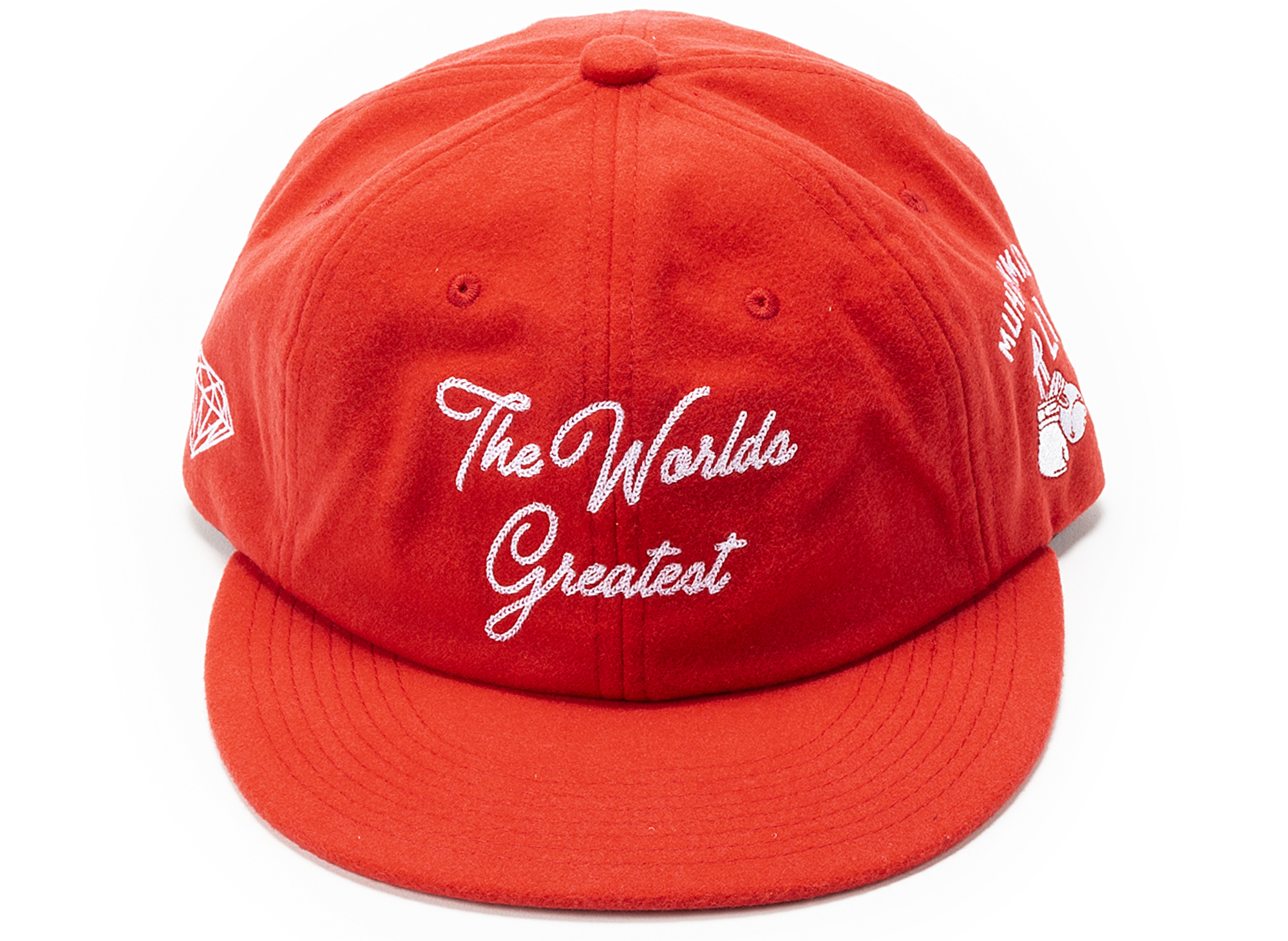 Diamond x Muhammad Ali World's Greatest Hat 'Red'