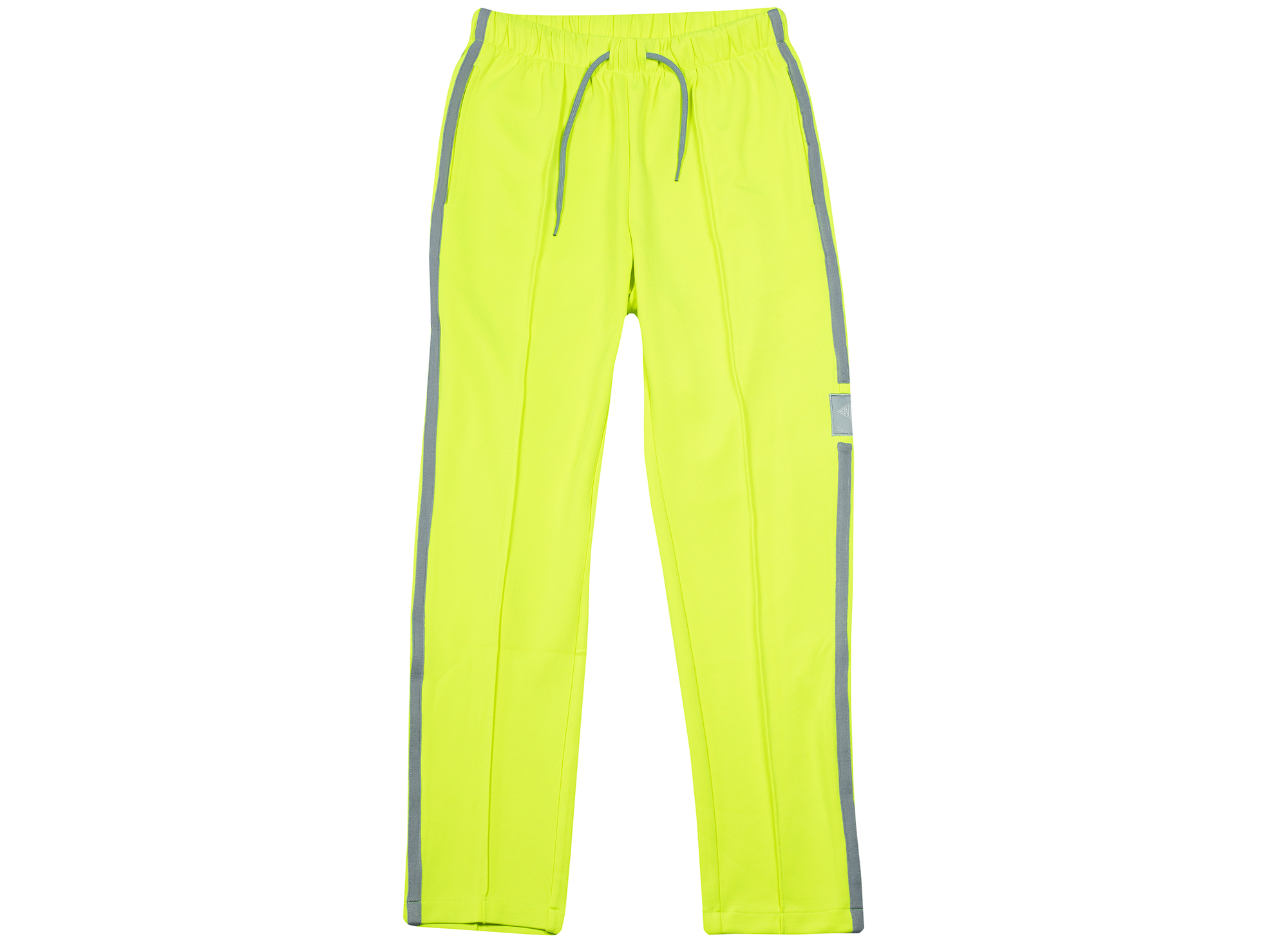 Ovadia and Sons Ball Track Pants in Safety Yellow