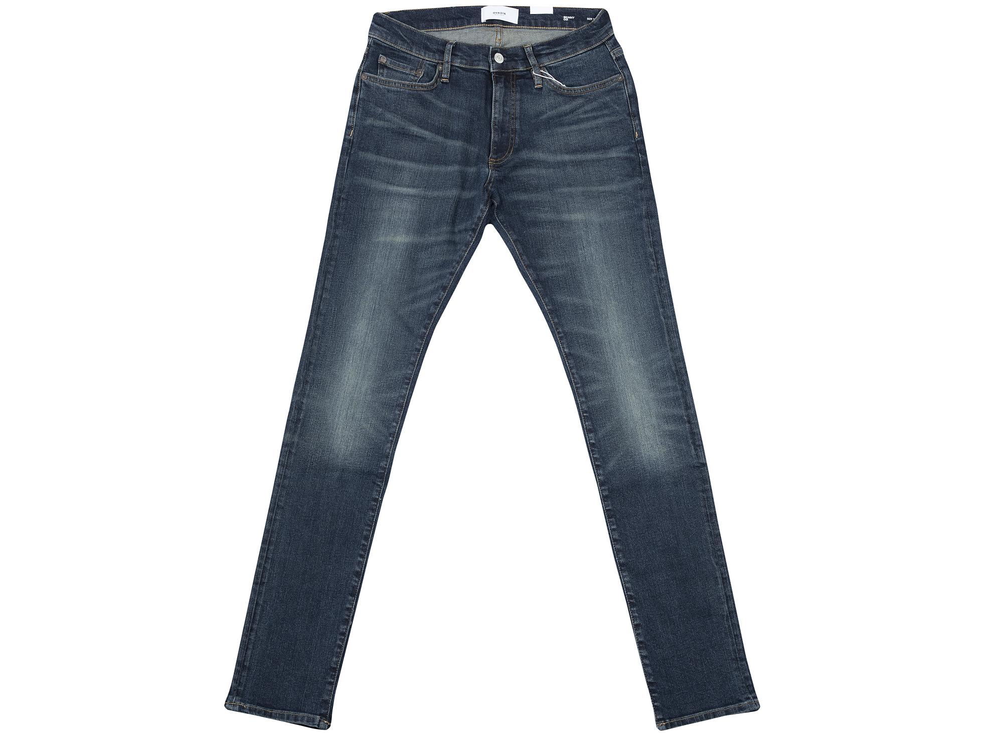 Ovadia and Sons Dark Washed Skinny Denim