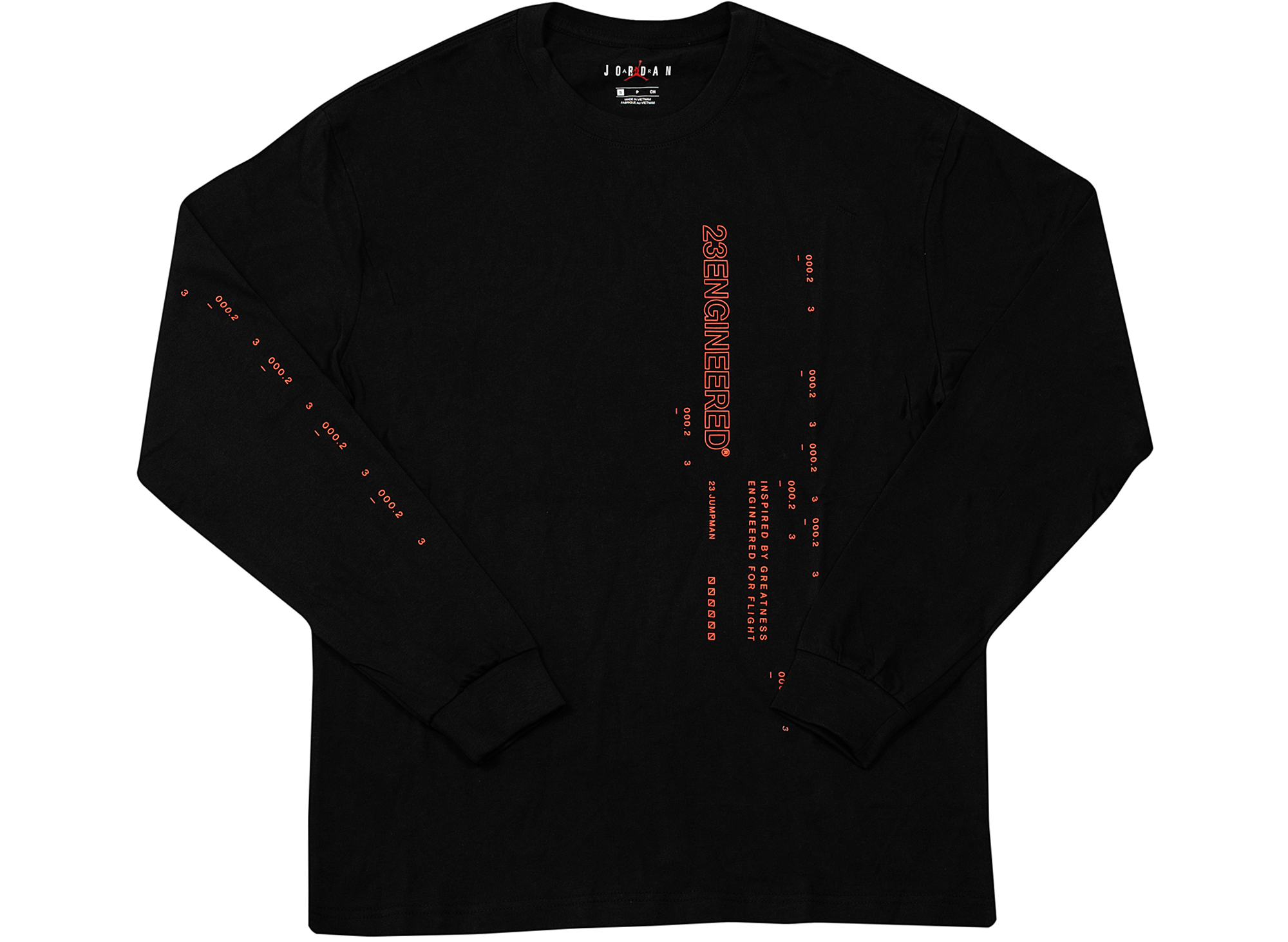 Jordan 23 Engineered L/S in Black