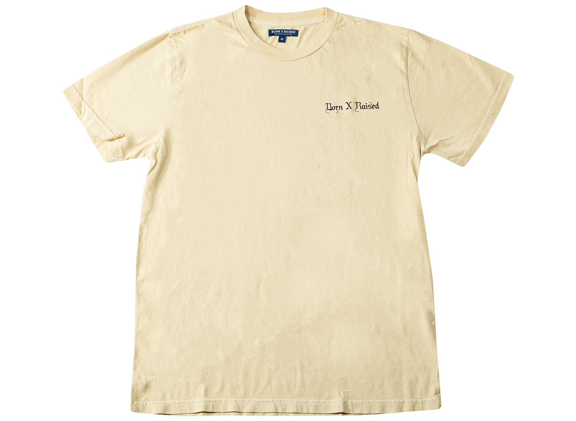Born x Raised Fuck School Tee in Tan xld