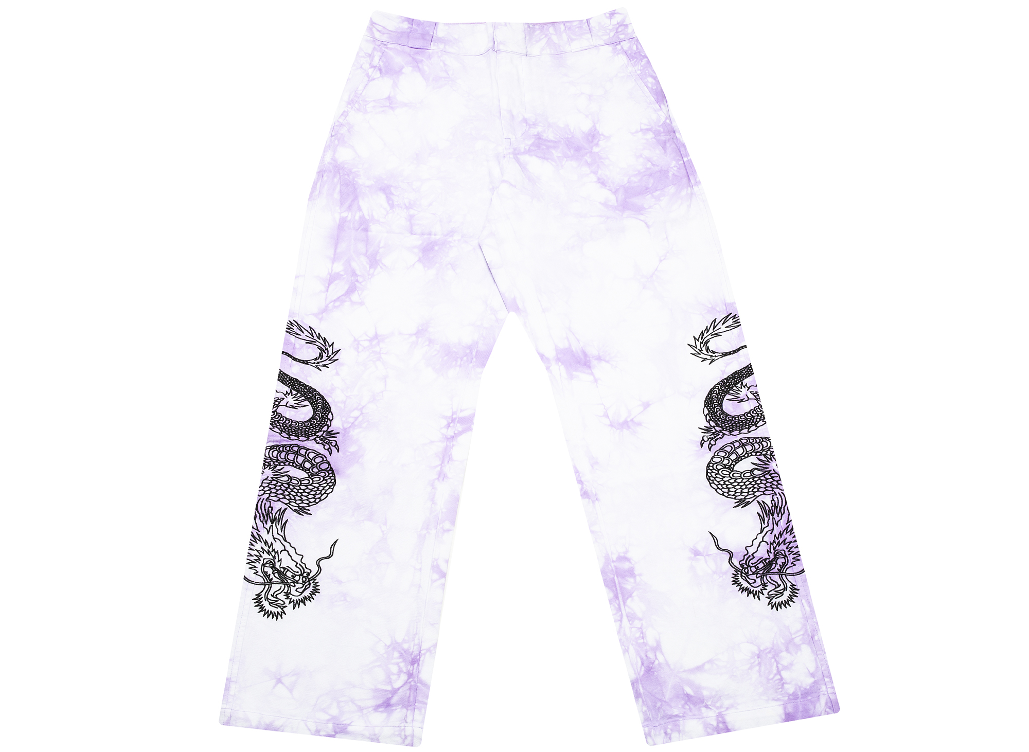 Clot x Dickies Dragon Tie Dye Chino in Purple
