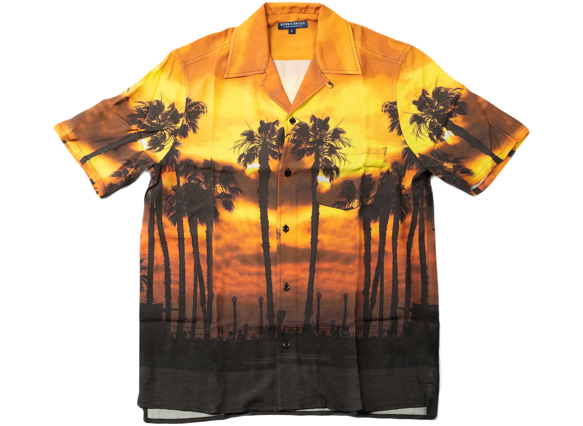 Born x Raised Sunset Shirt xld