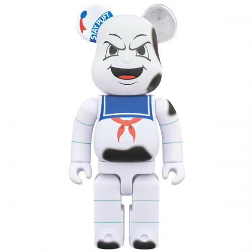 Medicom Toy BearBrick Stay Puft Marshmallow Man 'Anger Face' 400%